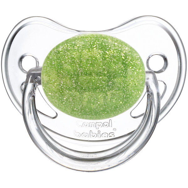 Пустышка круглая латексная, 0-6 Moonlight, Canpol Babies, зеленыйПустышки<br>Характеристики:<br><br>• Наименование: пустышка<br>• Пол: для девочки<br>• Материал: латекс, пластик<br>• Цвет: белый, зеленый<br>• Форма: круглая<br>• Наличие отверстий для вентиляции<br>• Наличие кольца для держателя<br>• Особенности ухода: регулярная стерилизация и своевременная замена<br><br>Пустышка круглая латексная, 0-6 Moonlight, Canpol Babies, зеленый имеет специальную форму, которая обеспечивает правильное давление на небо. Изготовлена из качественных и безопасных материалов. При правильном уходе обеспечивает длительное использование. У соски имеется ограничитель классической круглой формы с отверстиями для вентиляции и кольцо для держателя. Пустышка круглая латексная, 0-6 Moonlight, Canpol Babies, зеленый выполнена в стильном дизайне с эффектом серебристо-зеленого мерцания.<br><br>Пустышку круглую латексную, 0-6 Moonlight, Canpol Babies, зеленую можно купить в нашем интернет-магазине.<br><br>Ширина мм: 95<br>Глубина мм: 45<br>Высота мм: 155<br>Вес г: 110<br>Возраст от месяцев: 0<br>Возраст до месяцев: 6<br>Пол: Женский<br>Возраст: Детский<br>SKU: 5156632