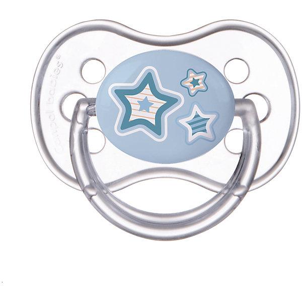 Пустышка круглая силиконовая, 0-6 Newborn baby, Canpol Babies, голубойСиликоновые пустышки<br>Характеристики:<br><br>• Наименование: пустышка<br>• Пол: для мальчика<br>• Материал: силикон, пластик<br>• Цвет: голубой, белый, синий<br>• Форма: круглая<br>• Наличие отверстий для вентиляции<br>• Наличие кольца для держателя<br>• Особенности ухода: регулярная стерилизация и своевременная замена<br><br>Пустышка круглая силиконовая, 0-6 Newborn baby, Canpol Babies, голубой имеет специальную форму, которая обеспечивает правильное давление на небо. Изготовлена из запатентованного вида силикона, который не имеет запаха. При правильном уходе обеспечивает длительное использование. У соски имеется классический ограничитель с отверстиями для вентиляции и кольцо для держателя. Пустышка круглая силиконовая, 0-6 Newborn baby, Canpol Babies, голубой выполнена в ярком дизайне с изображением звезд.<br><br>Пустышку круглую силиконовую, 0-6 Newborn baby, Canpol Babies, голубую можно купить в нашем интернет-магазине.<br><br>Ширина мм: 95<br>Глубина мм: 45<br>Высота мм: 155<br>Вес г: 110<br>Возраст от месяцев: 0<br>Возраст до месяцев: 6<br>Пол: Мужской<br>Возраст: Детский<br>SKU: 5156639
