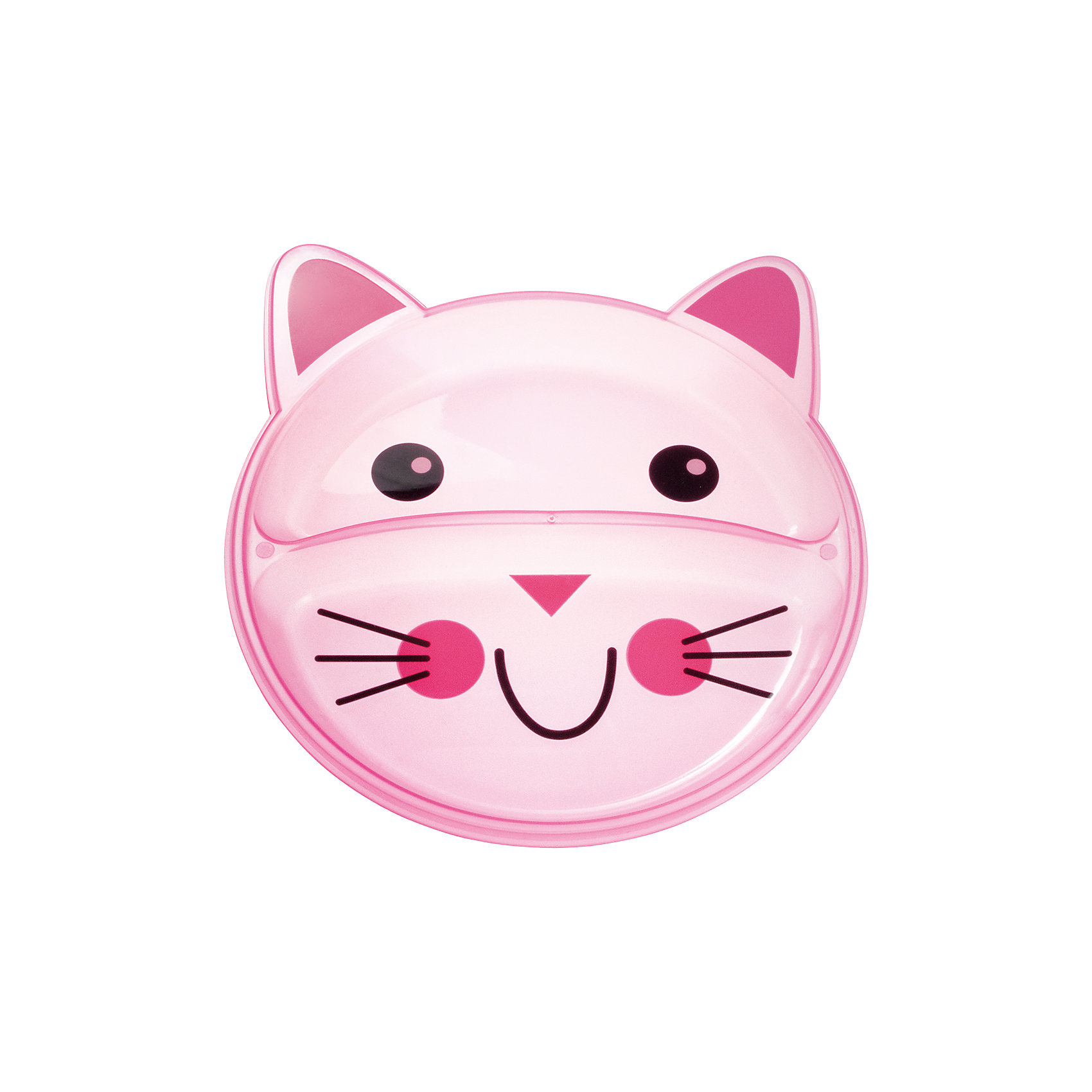 Тарелка с разделением Animals Котенок, 9+, Canpol Babies, розовыйТарелка с разделением Animals Котенок, 9+, Canpol Babies (Канпол беби), розовый.<br><br>Характеристики:<br>• есть 2 отсека для еды<br>• не содержит бисфенол-А<br>• можно использовать в микроволновой печи и посудомоечной машине<br>• интересный дизайн<br>• размер упаковки: 2х17,7х21,5 см<br>• вес: 100 грамм<br>• объем: 400 мл<br>• цвет: розовый<br>• материал: пластик <br><br>Тарелка Котенок изготовлена из качественного пластика и не содержит бисфенол-А. Тарелка имеет 2 отсека для еды. Вы сможете подать отдельно мясо и гарнир или кашу и фрукты. Посуда выполнена в виде улыбающегося котенка, который с удовольствием покажет крохе свою мордашку после обеда. Такая веселая тарелочка превратит прием пищи в веселую игру!<br><br>Тарелку с разделением Animals Котенок, 9+, Canpol Babies (Канпол беби), розовый вы можете купить в нашем интернет-магазине.<br><br>Ширина мм: 20<br>Глубина мм: 215<br>Высота мм: 177<br>Вес г: 390<br>Возраст от месяцев: 9<br>Возраст до месяцев: 36<br>Пол: Женский<br>Возраст: Детский<br>SKU: 5156695