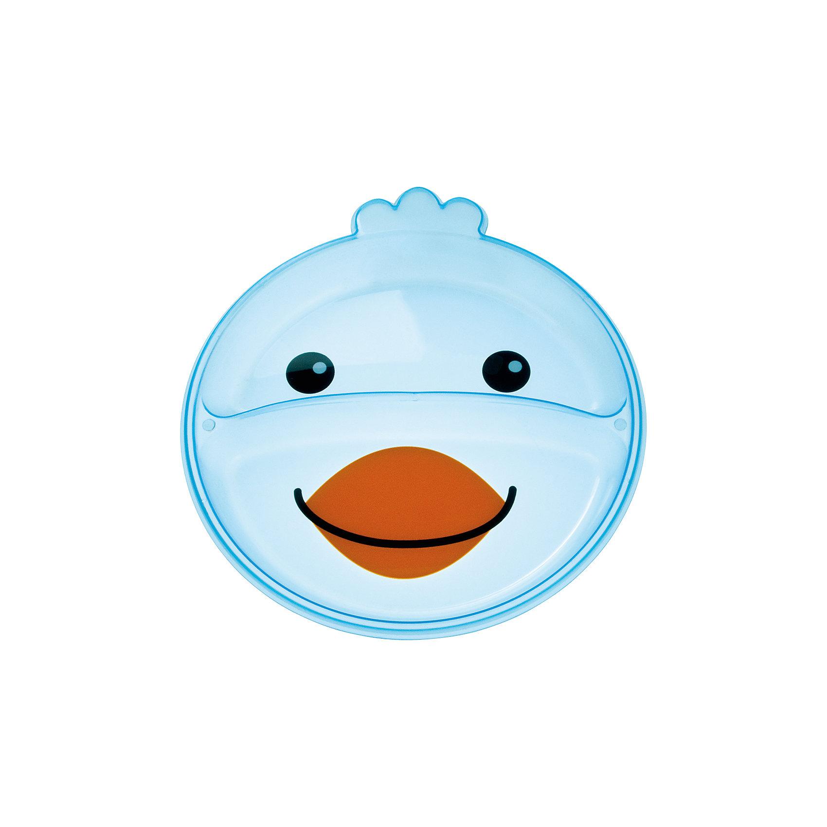 Тарелка с разделением Animals Птичка, 9+, Canpol Babies, голубойДетская посуда<br>Тарелка с разделением Animals Птичка, 9+, Canpol Babies (Канпол беби), голубой.<br><br>Характеристики:<br>• есть 2 отсека для еды<br>• не содержит бисфенол-А<br>• можно использовать в микроволновой печи и посудомоечной машине<br>• интересный дизайн<br>• размер упаковки: 2х17,7х21,5 см<br>• вес: 100 грамм<br>• объем: 400 мл<br>• цвет: голубой<br>• материал: пластик <br><br>Тарелка Птичка изготовлена из качественного пластика и не содержит бисфенол-А. Тарелка имеет 2 отсека для еды. Вы сможете подать отдельно мясо и гарнир или кашу и фрукты. Посуда выполнена в виде улыбающейся птички, которая с удовольствием покажет крохе свою мордашку после обеда. Такая веселая тарелочка превратит прием пищи в веселую игру!<br><br>Тарелку с разделением Animals Птичка, 9+, Canpol Babies (Канпол беби), голубой вы можете купить в нашем интернет-магазине.<br><br>Ширина мм: 20<br>Глубина мм: 215<br>Высота мм: 177<br>Вес г: 390<br>Возраст от месяцев: 9<br>Возраст до месяцев: 36<br>Пол: Унисекс<br>Возраст: Детский<br>SKU: 5156696
