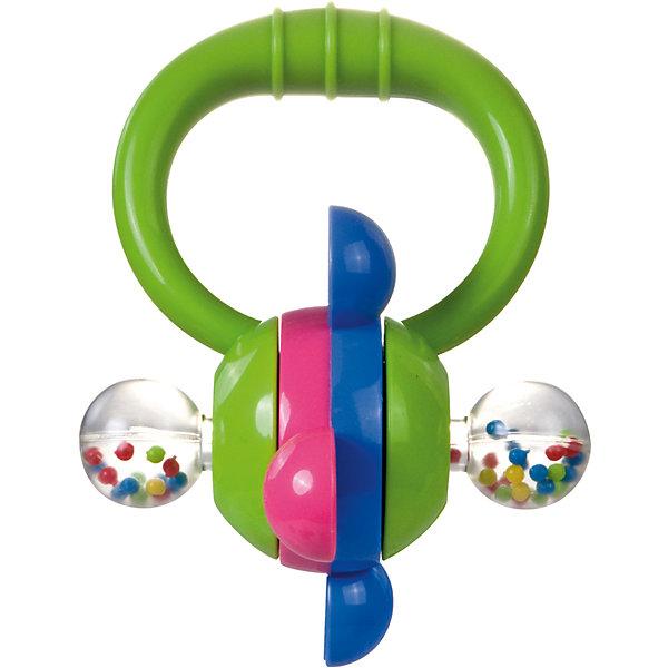 Погремушка Колесо, 0+, Canpol Babies, зеленыйИгрушки для новорожденных<br>Погремушка Колесо, 0+, Canpol Babies (Канпол Бейбис), зеленый<br>Характеристики:<br>• Материал:  пластик.<br>• Цвет: зеленый.<br><br>Погремушка Колесо, 0+, Canpol Babies (Канпол Бейбис), зеленый —  яркая и легкая игрушка, которую удобно держать в крошечных ручках. Она  сделана из высококачественного пластика, который совершенно безопасен для здоровья вашего малыша! Карапузу будет удобно держать игрушку у себя в ручке! Играя с этой погремушкой, ребенок будет развивать моторику рук, тактильное и звуковое восприятие.<br><br>Погремушку Колесо, 0+, Canpol Babies (Канпол Бейбис), зеленый, можно купить в нашем интернет – магазине.<br><br>Ширина мм: 145<br>Глубина мм: 60<br>Высота мм: 200<br>Вес г: 370<br>Возраст от месяцев: 0<br>Возраст до месяцев: 18<br>Пол: Унисекс<br>Возраст: Детский<br>SKU: 5156759