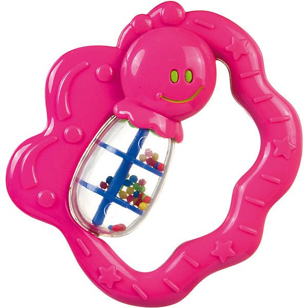 Погремушка Бабочка, 0+, Canpol Babies, розовыйИгрушки для новорожденных<br>Погремушка Бабочка, 0+, Canpol Babies ( Канпол Бейбис), розовый<br>Характеристики:<br>• Материал:  пластик.<br>• Цвет: розовый.<br><br>Погремушка Бабочка, 0+, Canpol Babies ( Канпол Бейбис), розовый —  яркая и легкая игрушка, которую удобно держать в крошечных ручках. Она  сделана в форме забавной бабочки из высококачественного пластика, который совершенно безопасен для здоровья вашего малыша! Карапузу будет удобно держать игрушку у себя в ручке! Играя с этой погремушкой, ребенок будет развивать моторику рук, тактильное и звуковое восприятие.<br><br>Погремушку Бабочка, 0+, Canpol Babies ( Канпол Бейбис), розовый можно купить в нашем интернет – магазине.<br><br>Ширина мм: 145<br>Глубина мм: 15<br>Высота мм: 200<br>Вес г: 400<br>Возраст от месяцев: 0<br>Возраст до месяцев: 18<br>Пол: Женский<br>Возраст: Детский<br>SKU: 5156766