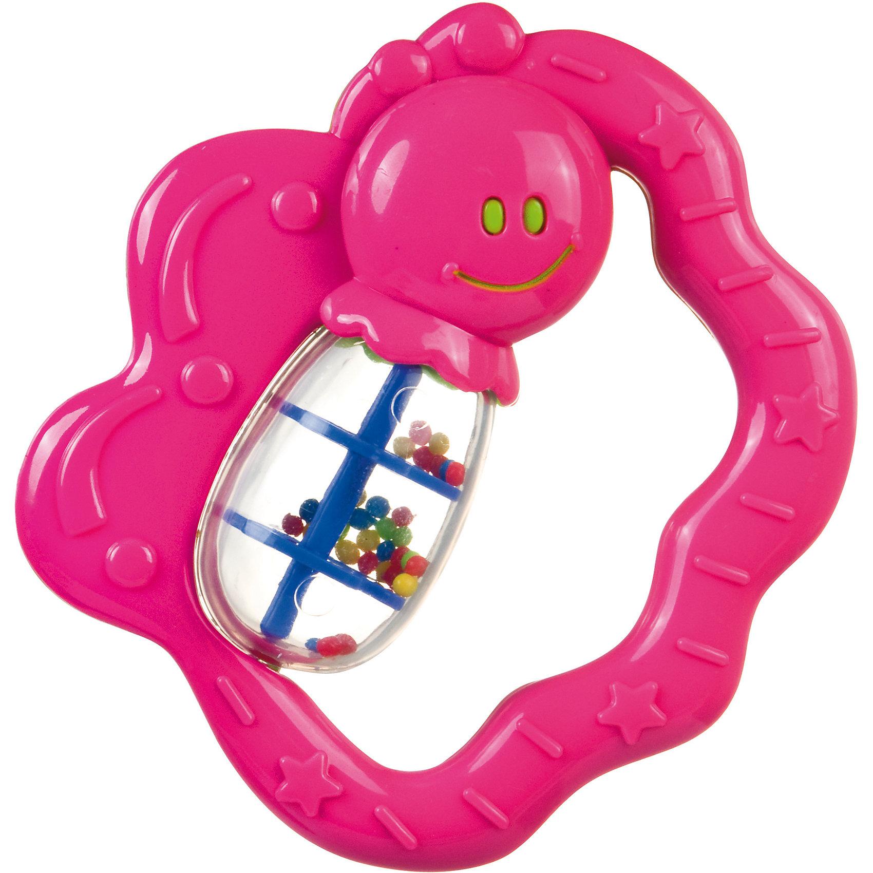 Canpol Babies Погремушка Бабочка, 0+, Canpol Babies, розовый