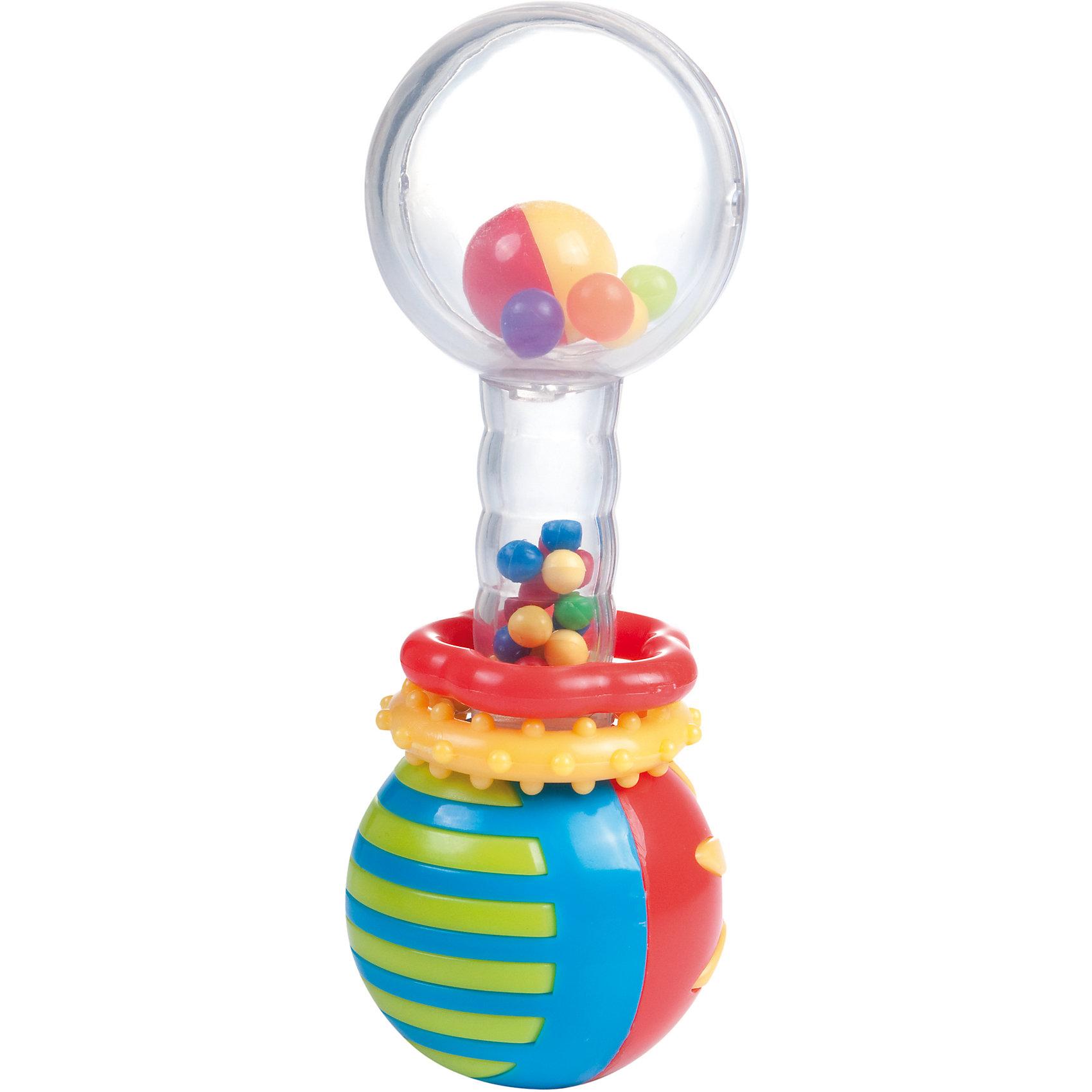 Погремушка-шарики Мяч, 0+, Canpol BabiesПогремушки<br>Погремушка-шарики Мяч, 0+, Canpol Babies ( Канпол Бейбис).<br>Характеристики:<br>• Материал:  пластик.<br>• Цвет: разноцветный.<br><br>Погремушка-шарики Мяч, 0+, Canpol Babies ( Канпол Бейбис), —  яркая и легкая игрушка, которую удобно держать в крошечных ручках. Она  сделана в форме гантельки с ярким мячиком внутри шара из высококачественного пластика, который совершенно безопасен для здоровья вашего малыша! Карапузу будет удобно держать игрушку у себя в ручке! Играя с этой погремушкой, ребенок будет развивать моторику рук, тактильное и звуковое восприятие.<br><br>Погремушка-шарики Мяч, 0+, Canpol Babies ( Канпол Бейбис), можно купить в нашем интернет – магазине.<br><br>Ширина мм: 155<br>Глубина мм: 40<br>Высота мм: 210<br>Вес г: 560<br>Возраст от месяцев: 0<br>Возраст до месяцев: 18<br>Пол: Унисекс<br>Возраст: Детский<br>SKU: 5156769