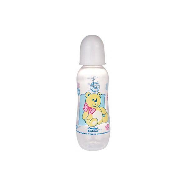 Бутылочка PP (BPA 0%) с сил. соской, 330 мл. 12+, Canpol Babies, белыйБутылочки и аксессуары<br>Бутылочка PP (BPA 0%) с сил. соской, 330 мл. 12+, Canpol Babies (Канпол Бейби), белый.<br><br>Характеристики: <br><br>• Объем бутылочки: 330 мл.<br>• Материал бутылочки: полипропилен.<br>• Материал соски: силикон. <br><br>Легкая бутылочка позволяет удобно держать ее во время кормления. Долговечная, безопасная бутылочка из тритана с мерной шкалой соответствует самым высоким стандартам качества. Забавный принт на бутылочке безусловно привлечет внимание вашего малыша. Можно стерилизовать разными способами: в кипящей воде или в паровом стерилизаторе. Бутылочка оснащена герметичным диском, который преобразует бутылочку в контейнер для хранения/замораживания продуктов питания, а также жесткой закручивающейся крышкой, которая не даст жидкости разлиться во время прогулок. Бутылочка выполнена из высококачественно и безопасного материла, не содержит Бисфенол - А (0% BPA).<br><br>Бутылочку PP (BPA 0%) с сил. соской, 330 мл. 12+, Canpol Babies (Канпол Бейби), белый  можно купить в нашем интернет- магазине.<br><br>Ширина мм: 64<br>Глубина мм: 65<br>Высота мм: 242<br>Вес г: 640<br>Возраст от месяцев: 12<br>Возраст до месяцев: 36<br>Пол: Унисекс<br>Возраст: Детский<br>SKU: 5156778