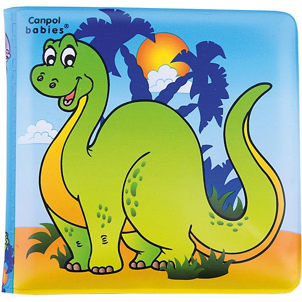Книжка с пищалкой Динозаврик 6+, Canpol BabiesИгрушки для ванной<br>Книжка с пищалкой, 6+, Canpol Babies (Канпол Бейбис), динозаврик.<br><br>Характеристики:<br>• Материал: мягкий, нетоксичный<br>• Размер: 2см х 13х 20 см.<br>• Возраст: 6+.<br>• Цвет: красочная.<br><br>Книжка с пищалкой, 6+ - красивая книжка для малышей с 6 месяцев. Яркие рисунки заинтересуют ребенка, а звук пищалки дополнительно привлечет внимание. Ребенок с любопытством будет рассматривать цветные картинки, представляющие разные объекты. Данная книжечка иллюстрирована картинками с динозавриком. Играя и рассматривая книжечку,  малыш развивает цветовое восприятие и координацию движений. Книжка изготовлена из безопасных, нетоксичных материалов, ее легко содержать в чистоте и даже можно брать ее с собой в ванну.<br><br>Книжку с пищалкой, 6+, Canpol Babies (Канпол Бейбис), динозаврик можно купить в нашем интернет – магазине.<br><br>Ширина мм: 137<br>Глубина мм: 20<br>Высота мм: 220<br>Вес г: 300<br>Возраст от месяцев: 6<br>Возраст до месяцев: 36<br>Пол: Унисекс<br>Возраст: Детский<br>SKU: 5156828