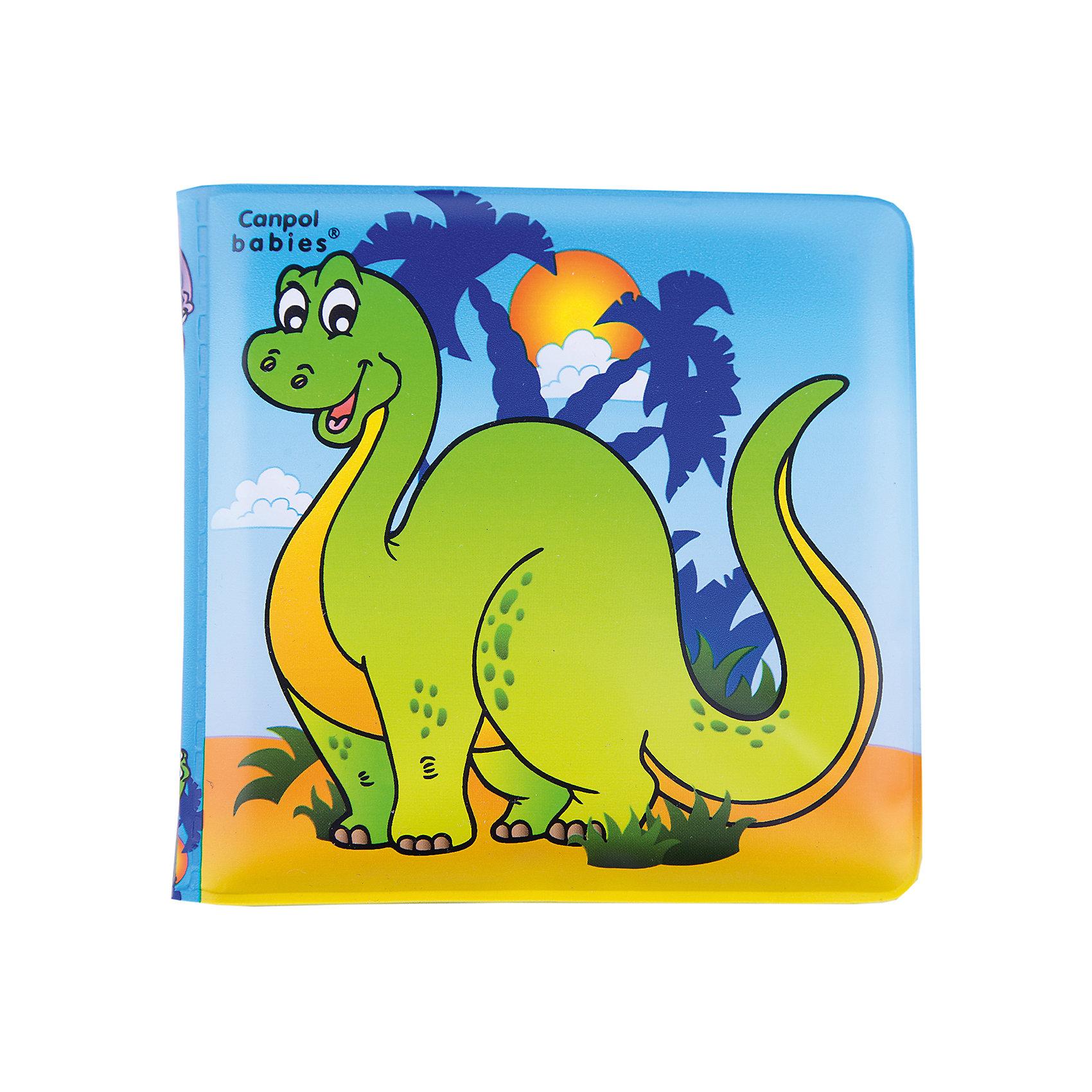 Книжка с пищалкой Динозаврик 6+, Canpol BabiesКнижки-игрушки<br>Книжка с пищалкой, 6+, Canpol Babies (Канпол Бейбис), динозаврик.<br><br>Характеристики:<br>• Материал: мягкий, нетоксичный<br>• Размер: 2см х 13х 20 см.<br>• Возраст: 6+.<br>• Цвет: красочная.<br><br>Книжка с пищалкой, 6+ - красивая книжка для малышей с 6 месяцев. Яркие рисунки заинтересуют ребенка, а звук пищалки дополнительно привлечет внимание. Ребенок с любопытством будет рассматривать цветные картинки, представляющие разные объекты. Данная книжечка иллюстрирована картинками с динозавриком. Играя и рассматривая книжечку,  малыш развивает цветовое восприятие и координацию движений. Книжка изготовлена из безопасных, нетоксичных материалов, ее легко содержать в чистоте и даже можно брать ее с собой в ванну.<br><br>Книжку с пищалкой, 6+, Canpol Babies (Канпол Бейбис), динозаврик можно купить в нашем интернет – магазине.<br><br>Ширина мм: 137<br>Глубина мм: 20<br>Высота мм: 220<br>Вес г: 300<br>Возраст от месяцев: 6<br>Возраст до месяцев: 36<br>Пол: Унисекс<br>Возраст: Детский<br>SKU: 5156828