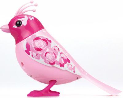 Silverlit Птичка с домиком, розовая, DigiBirds