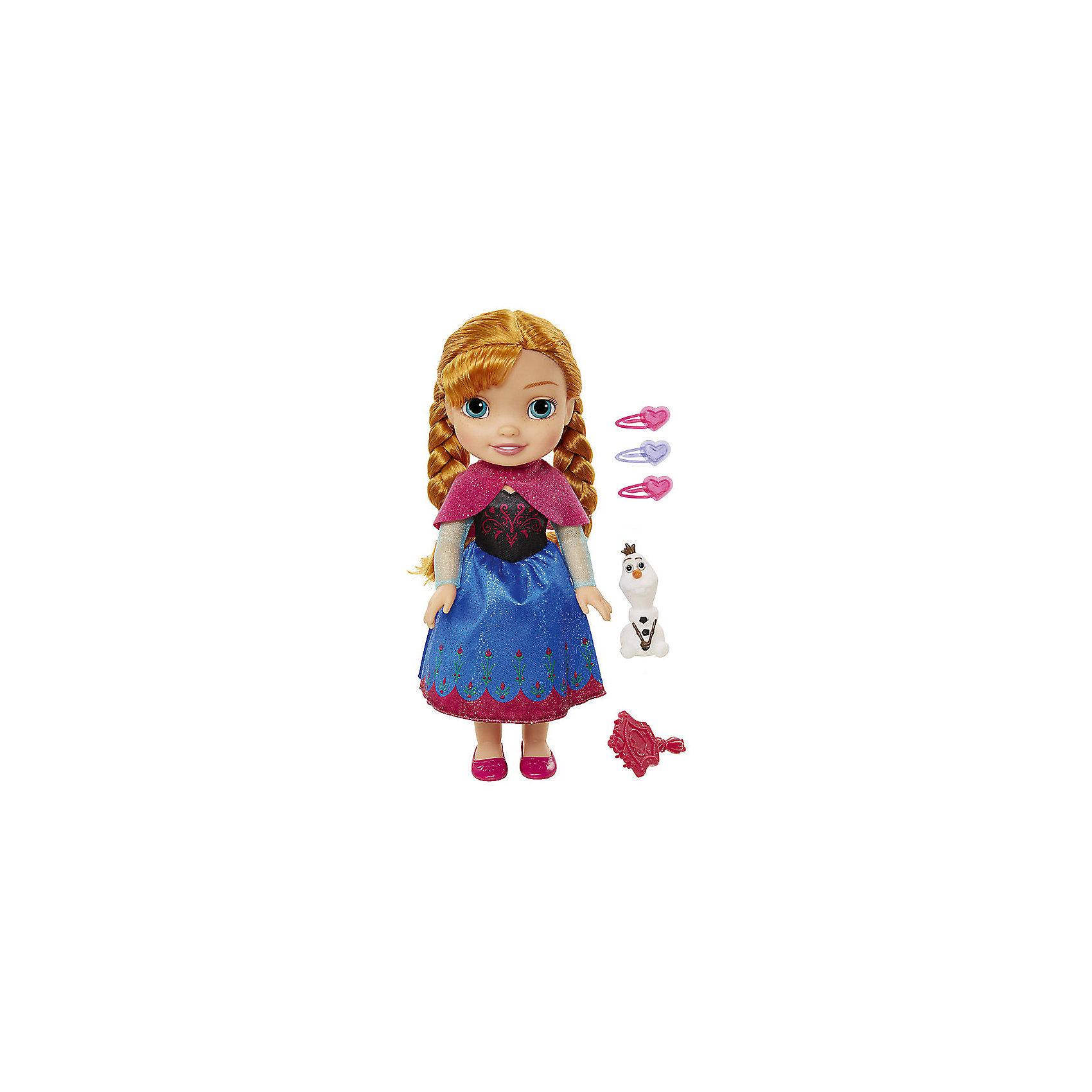 Jakks Pacific Кукла-малышка Холодное сердце с аксессуарами, Анна, 35 см кукла jakks pacific аврора