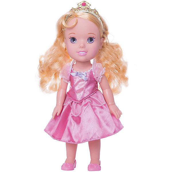 Кукла-малышка Принцессы Диснея Аврора, 31 см.Принцессы Дисней<br>Кукла Аврора, 31 см, Холодное сердце.<br><br>Характеристики:<br><br>- В комплекте: кукла, тиара<br>- Высота куклы: 31 см.<br>- Материал: пластик, текстиль<br>- Особенности: настоящие мягкие волосы<br>- Упаковка: картонная коробка с дисплеем<br><br>Кукла-малышка Аврора создана по мотивам популярного мультсериала Дисней «Спящая красавица» и наверняка понравится каждой его поклоннице! Маленькая принцесса Дисней одета в атласное розовое платье с белым кружевом и маленьким сиреневым бантиком, которое сочетается с удобными туфельками и маленькой изящной тиарой. У куклы шикарные шелковистые светлые волосы, из которых можно создавать самые разные прически. Кукла выполнена из высококачественных материалов, выглядит очень мило.<br><br>Куклу Аврора, 31 см, Холодное сердце купить в нашем интернет-магазине.<br>Ширина мм: 170; Глубина мм: 350; Высота мм: 120; Вес г: 602; Возраст от месяцев: 36; Возраст до месяцев: 2147483647; Пол: Женский; Возраст: Детский; SKU: 5156889;