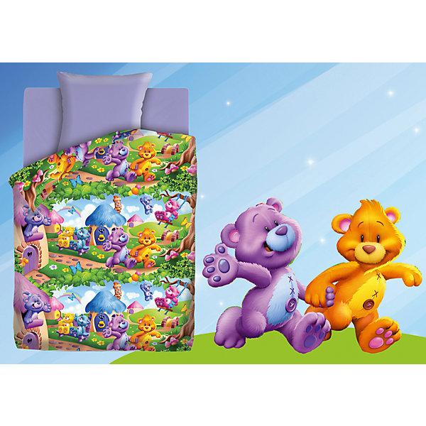 Детское постельное белье 1,5 сп. Непоседа, Радужные мишкиДетское постельное бельё<br>Постельное белье 1,5 Радужные мишки (нав.70*70) бязь, Непоседа, лиловый<br><br>В комплект входит:<br><br>-1 пододеяльник<br>-1 простыня<br>-1 наволочка<br><br>Характеристики:<br><br>-Размер пододеяльника: 215х143 см<br>-Размер простыни: 214х150 см<br>-Размер наволочки: 70х70 см <br>-Материал: бязь<br>-Цвет: лиловый, принт<br>-Марка: Непоседа<br><br>Постельное белье Радужные мишки выполнено из 100% хлопка, поэтому не вызовет раздражения на коже. Оно очень прочное, но в тоже время очень легкое, его легко стирать и гладить. А рисунок милых мишек не будет тускнеть со временем, благодаря качеству материала. Постельное белье 1,5 Радужные мишки (нав.70*70) бязь, Непоседа, лиловый сделает сны еще крепче и приятнее. <br><br>Постельное белье 1,5 Радужные мишки (нав.70*70) бязь, Непоседа, лиловый можно приобрести в нашем интернет-магазине.<br><br>Ширина мм: 290<br>Глубина мм: 200<br>Высота мм: 370<br>Вес г: 1200<br>Возраст от месяцев: 36<br>Возраст до месяцев: 216<br>Пол: Женский<br>Возраст: Детский<br>SKU: 5158217