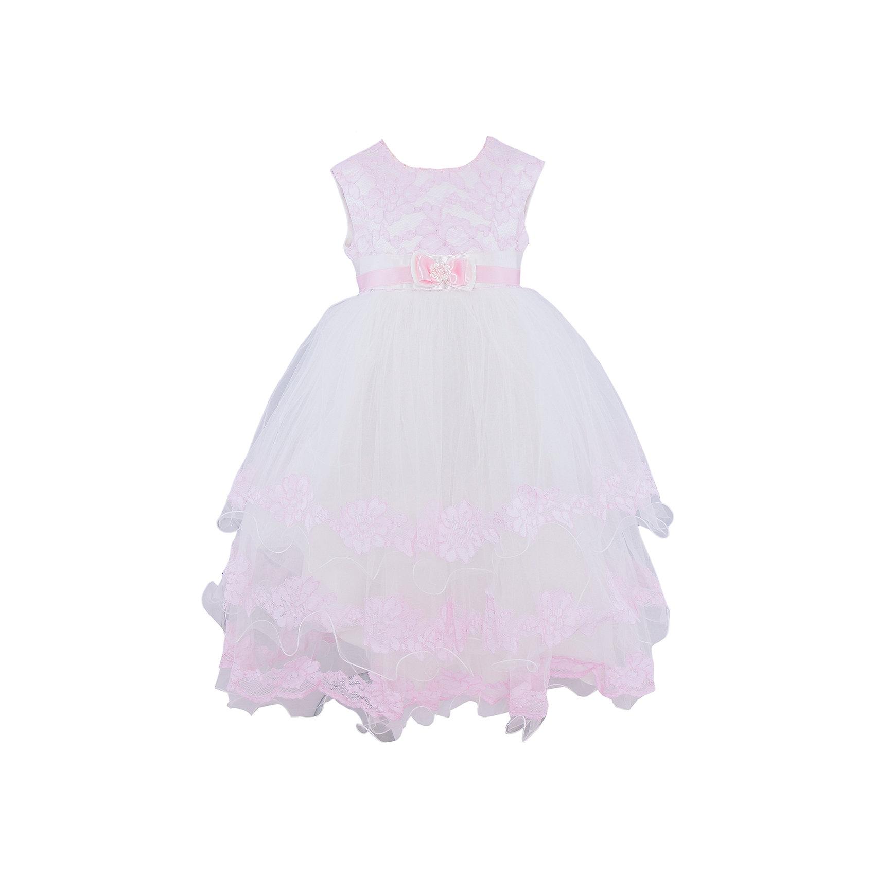 Платье нарядное ПрестижПлатье для девочки Престиж.<br><br>Характеристики:<br><br>• пышный силуэт<br>• длинное<br>• без рукавов<br>• цвет: розовый<br>• состав: 100% полиэстер<br><br>Очаровательное платье Престиж сделает из девочки настоящую принцессу. Длинное пышное платье декорировано вышивкой по лифу и краям подола. Пояс украшает декоративный атласный бантик.  Модель застегивается сзади.<br><br>Платье регулируется шнуровкой сзади, от талии до верха спинки. Шнуровка в комплекте.<br>Платье подходит для занятий бальными танцами.<br><br>Платье для девочки Престиж можно купить в нашем интернет-магазине.<br><br>Ширина мм: 236<br>Глубина мм: 16<br>Высота мм: 184<br>Вес г: 177<br>Цвет: розовый<br>Возраст от месяцев: 72<br>Возраст до месяцев: 84<br>Пол: Женский<br>Возраст: Детский<br>Размер: 116<br>SKU: 5158308