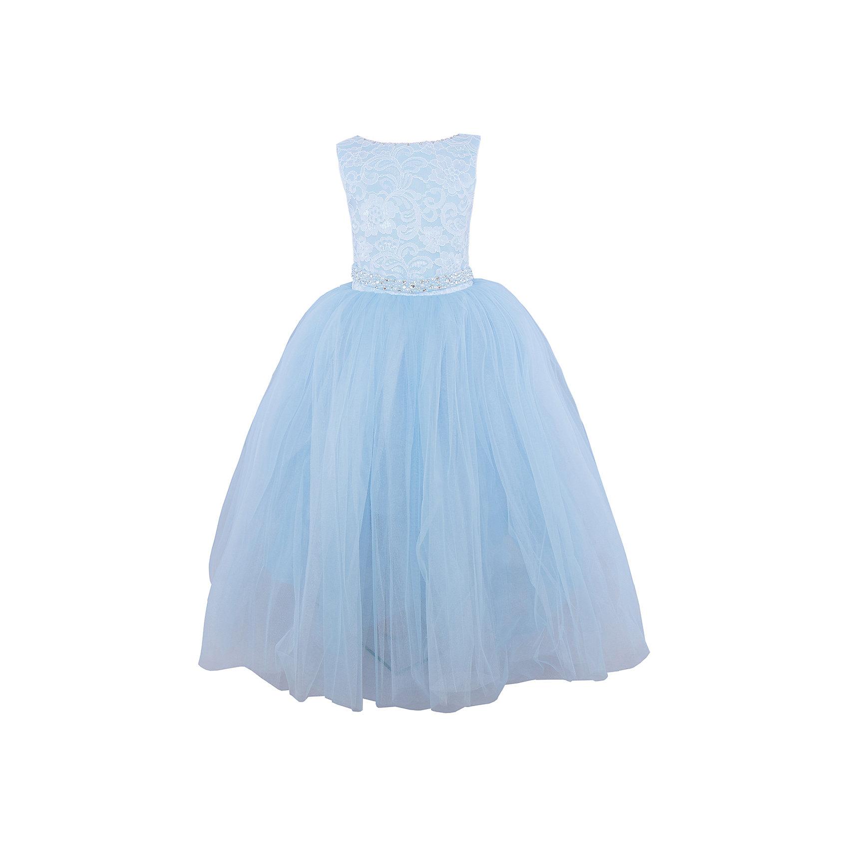 Платье нарядное ПрестижПлатье для девочки Престиж<br><br><br>Характеристики:<br><br>• длинное<br>• без рукавов<br>• цвет: голубой<br>• состав: 100% полиэстер<br><br>Роскошное платье для девочки Престиж отлично подойдет для прекрасного бала или торжества. Лиф на корсете можно утянуть при необходимости. Пышный низ платья дополнен элегантным верхом с кружевом и вышивкой. Кроме того, лиф декорирован бусами и стразами. Пояс на платье завязывается сзади. В таком платье девочка станет самой прекрасной дамой на празднике!<br><br>Платье регулируется шнуровкой сзади, от талии до верха спинки. Шнуровка в комплекте.<br>Платье подходит для занятий бальными танцами.<br><br>Вы можете купить платье для девочки Престиж в нашем интернет-магазине.<br><br>Ширина мм: 236<br>Глубина мм: 16<br>Высота мм: 184<br>Вес г: 177<br>Цвет: голубой<br>Возраст от месяцев: 96<br>Возраст до месяцев: 108<br>Пол: Женский<br>Возраст: Детский<br>Размер: 122,116,128<br>SKU: 5158314