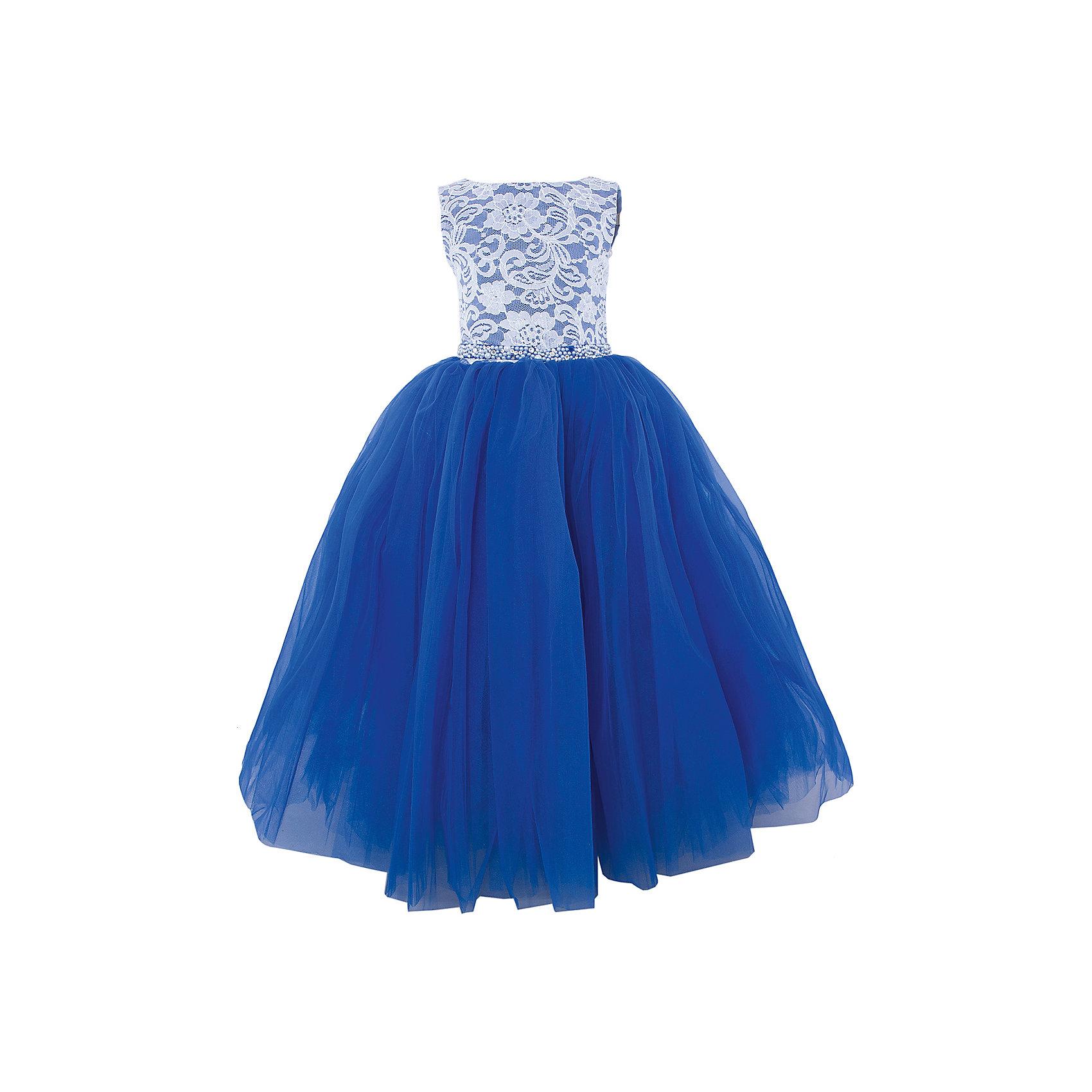 Платье нарядное ПрестижПлатье для девочки Престиж<br><br>Характеристики:<br><br>• длинное<br>• без рукавов<br>• цвет: синий<br>• состав: 100% полиэстер<br><br>Роскошное платье для девочки Престиж отлично подойдет для прекрасного бала или торжества. Лиф на корсете можно утянуть при необходимости. Пышный низ платья дополнен элегантным верхом с кружевом и вышивкой. Кроме того, лиф декорирован бусами и стразами. Пояс на платье завязывается сзади. В таком платье девочка станет самой прекрасной дамой на празднике!<br><br>Платье регулируется шнуровкой сзади, от талии до верха спинки. Шнуровка в комплекте.<br>Платье подходит для занятий бальными танцами.<br><br>Вы можете купить платье для девочки Престиж в нашем интернет-магазине.<br><br>Ширина мм: 236<br>Глубина мм: 16<br>Высота мм: 184<br>Вес г: 177<br>Цвет: синий<br>Возраст от месяцев: 108<br>Возраст до месяцев: 120<br>Пол: Женский<br>Возраст: Детский<br>Размер: 128,116,122<br>SKU: 5158326