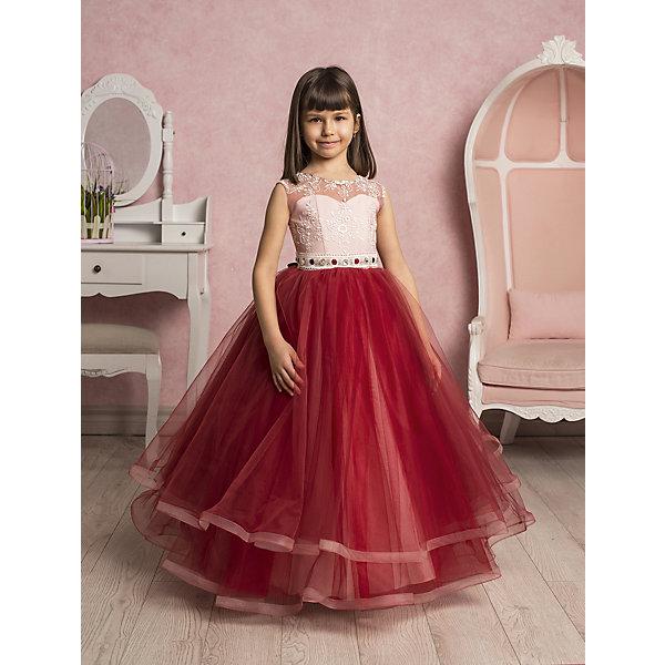 Платье нарядное ПрестижОдежда<br>Платье для девочки Престиж.<br><br>Характеристики:<br><br>• длинное<br>• без рукавов<br>• цвет: бордовый<br>• состав: 100% полиэстер<br><br>Длинное платье для девочки Престиж не имеет рукавов. Светлый лиф платья украшен вышивкой и стразами. Его отлично дополняет пышный низ, на несколько тонов темнее. Пояс платья декорирован крупными стразами. Это платье - прекрасный выбор для юной леди!<br><br>Платье регулируется шнуровкой сзади, от талии до верха спинки. Шнуровка в комплекте.<br>Платье подходит для занятий бальными танцами.<br><br>Вы можете купить платье для девочки Престиж в нашем интернет-магазине.<br><br>Ширина мм: 236<br>Глубина мм: 16<br>Высота мм: 184<br>Вес г: 177<br>Цвет: бордовый<br>Возраст от месяцев: 96<br>Возраст до месяцев: 108<br>Пол: Женский<br>Возраст: Детский<br>Размер: 122,128,116<br>SKU: 5158334
