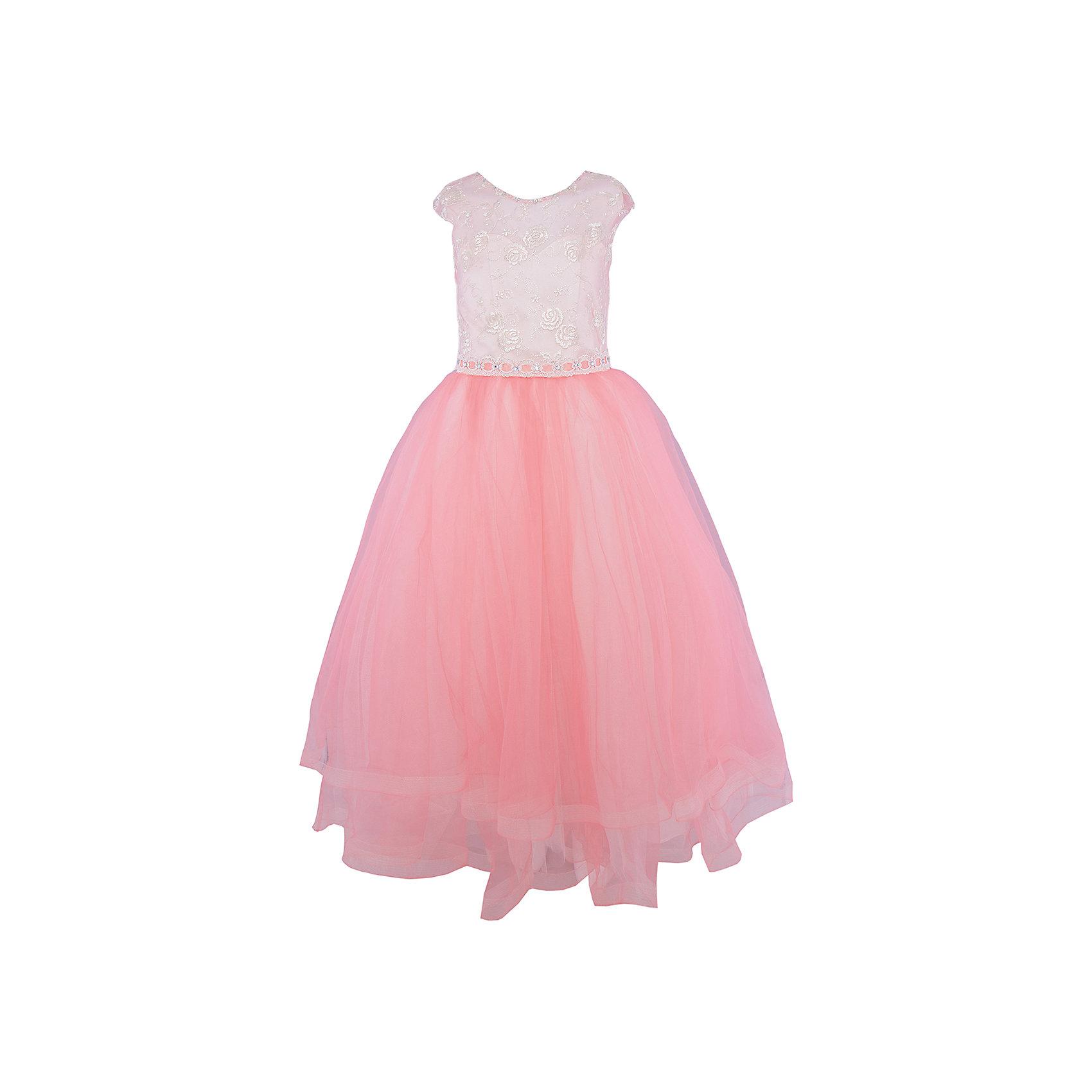 Платье нарядное ПрестижОдежда<br>Платье для девочки Престиж.<br><br>Характеристики:<br><br>• длинное<br>• без рукавов<br>• цвет: оранжевый<br>• состав: 100% полиэстер<br><br>Длинное платье для девочки Престиж не имеет рукавов. Светлый лиф платья украшен вышивкой и стразами. Его отлично дополняет пышный низ, на несколько тонов темнее. Пояс платья декорирован крупными стразами. Это платье - прекрасный выбор для юной леди!<br><br>Платье регулируется шнуровкой сзади, от талии до верха спинки. Шнуровка в комплекте.<br>Платье подходит для занятий бальными танцами.<br><br>Вы можете купить платье для девочки Престиж в нашем интернет-магазине.<br><br>Ширина мм: 236<br>Глубина мм: 16<br>Высота мм: 184<br>Вес г: 177<br>Цвет: розовый<br>Возраст от месяцев: 72<br>Возраст до месяцев: 84<br>Пол: Женский<br>Возраст: Детский<br>Размер: 116,128,122<br>SKU: 5158338