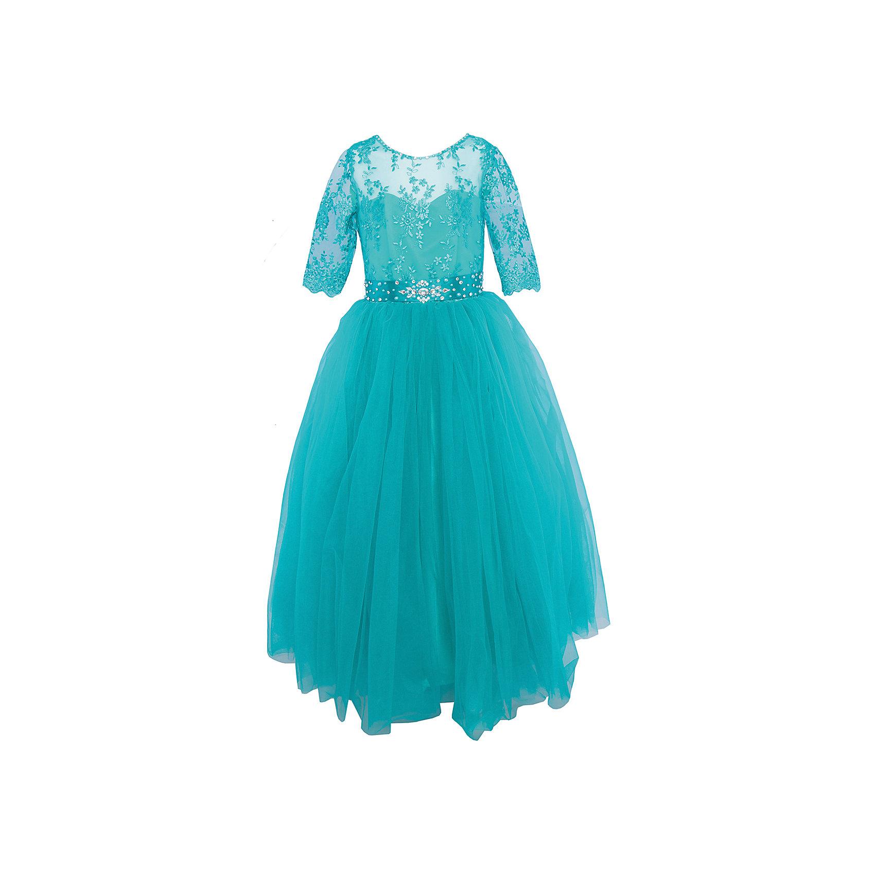 Платье нарядное ПрестижОдежда<br>Платье для девочки Престиж.<br><br>Характеристики:<br><br>• пышный силуэт<br>• рукав три четверти<br>• цвет: зеленый<br>• состав: 100% полиэстер<br><br>Нарядное платье для девочки Престиж прекрасно подойдет для любого торжества. Оно имеет пышный силуэт, рукава три четверти. Рукава и верх платья полупрозрачные, украшены вышивкой. Лиф также украшен вышивкой. Необычный поясок идеально дополнит нежный образ юной леди.<br><br>Платье регулируется шнуровкой сзади, от талии до верха спинки. Шнуровка в комплекте.<br>Платье подходит для занятий бальными танцами.<br><br>Платье для девочки Престиж вы можете купить в нашем интернет-магазине.<br><br>Ширина мм: 236<br>Глубина мм: 16<br>Высота мм: 184<br>Вес г: 177<br>Цвет: зеленый<br>Возраст от месяцев: 96<br>Возраст до месяцев: 108<br>Пол: Женский<br>Возраст: Детский<br>Размер: 122,128,116<br>SKU: 5158346