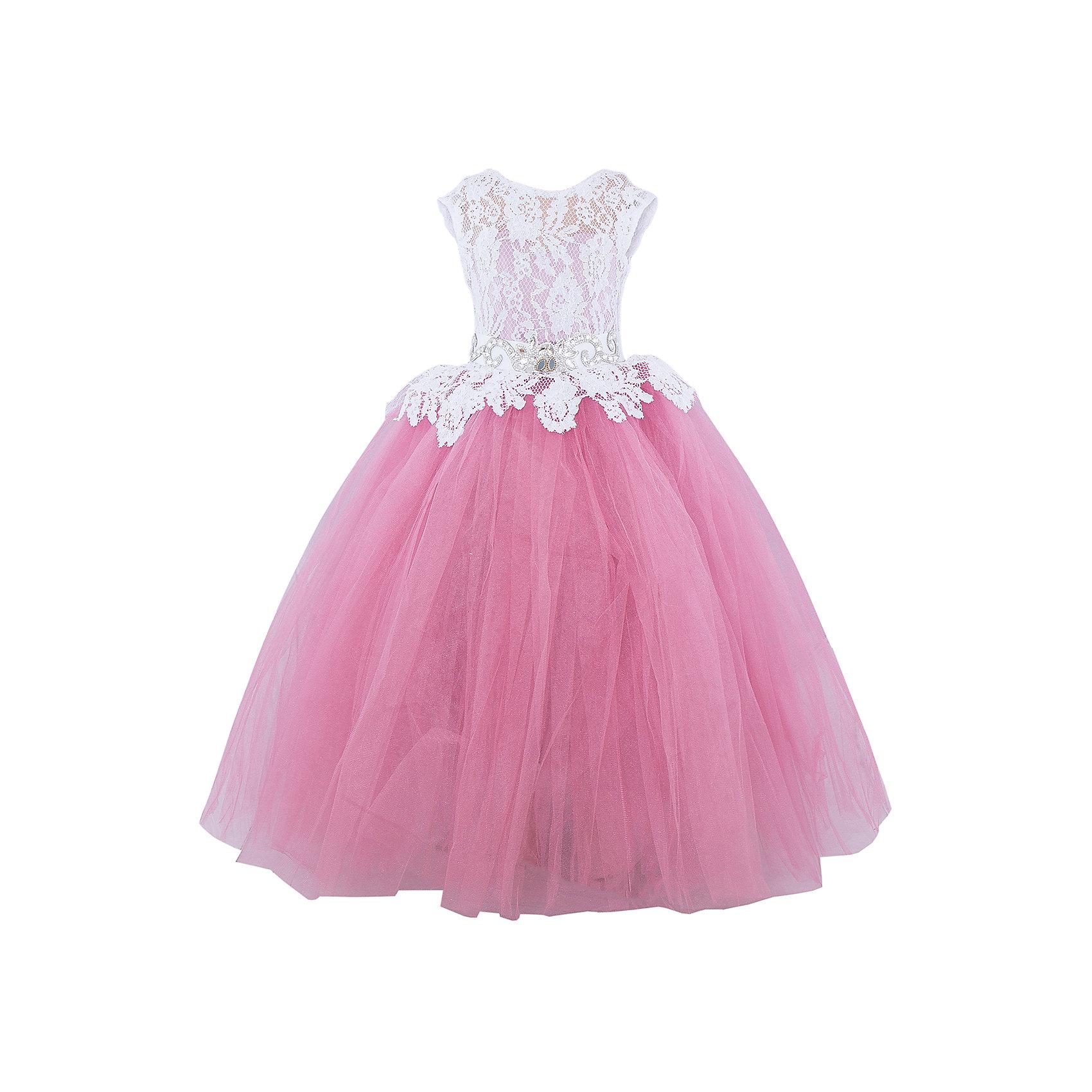 Платье нарядное ПрестижПлатье для девочки Престиж.<br><br>Характеристики:<br><br>• пышный силуэт<br>• корсет<br>• без рукавов<br>• цвет: красный<br>• состав: 100% полиэстер<br><br>Платье для девочки Престиж имеет пышный силуэт и яркий дизайн. Полупрозрачный кружевной верх платья идеально дополняет яркую юбку. Платье дополнено красивым поясом с украшением. С этим платьем девочка всегда будет в центре внимания!<br><br>Платье регулируется шнуровкой сзади, от талии до верха спинки. Шнуровка в комплекте.<br>Платье подходит для занятий бальными танцами.<br><br>Вы можете приобрести платье для девочки Престиж в нашем интернет-магазине.<br><br>Ширина мм: 236<br>Глубина мм: 16<br>Высота мм: 184<br>Вес г: 177<br>Цвет: розовый<br>Возраст от месяцев: 96<br>Возраст до месяцев: 108<br>Пол: Женский<br>Возраст: Детский<br>Размер: 128,116,122<br>SKU: 5158366