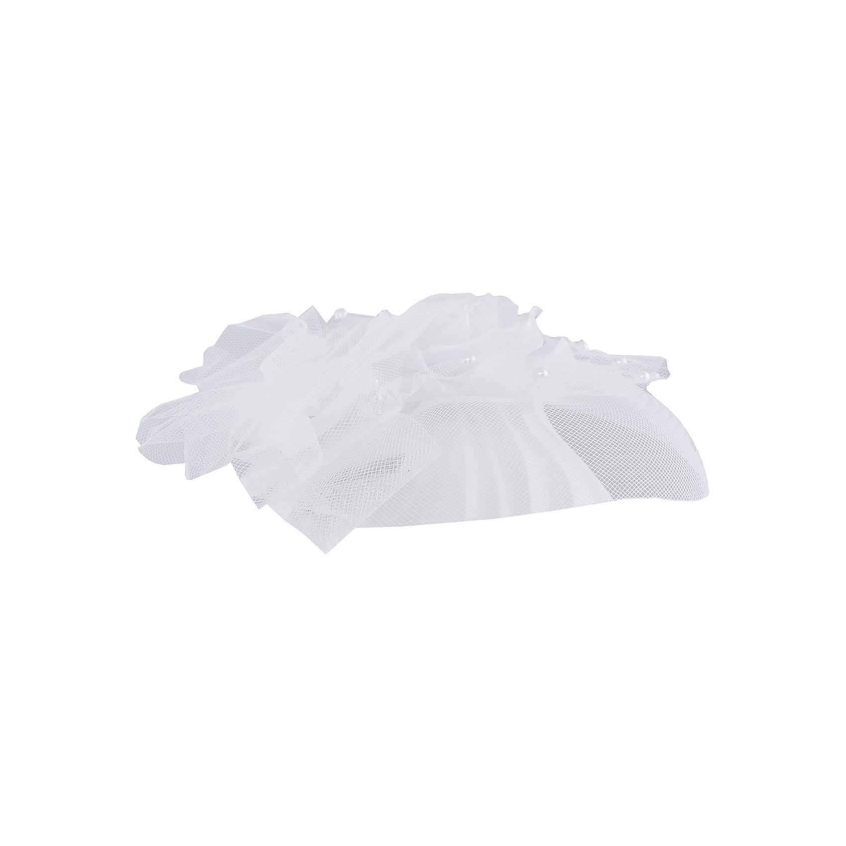 Нарядная шляпа ПрестижАксессуары<br>Шляпа для девочки Престиж.<br><br>Характеристики:<br><br>• состав: 100% полиэстер<br>• цвет: белый<br><br>Очаровательная шляпка Престиж внесет нотку утонченности в праздничный образ девочки. Аксессуар выполнен в форме объемной белой шляпки с золотыми нитями. Шляпка украшена декоративным цветком и бусинами.<br><br>Вы можете купить шляпу для девочки Престиж в нашем интернет-магазине.<br><br>Ширина мм: 89<br>Глубина мм: 117<br>Высота мм: 44<br>Вес г: 155<br>Цвет: белый<br>Возраст от месяцев: 132<br>Возраст до месяцев: 144<br>Пол: Женский<br>Возраст: Детский<br>Размер: one size<br>SKU: 5158381