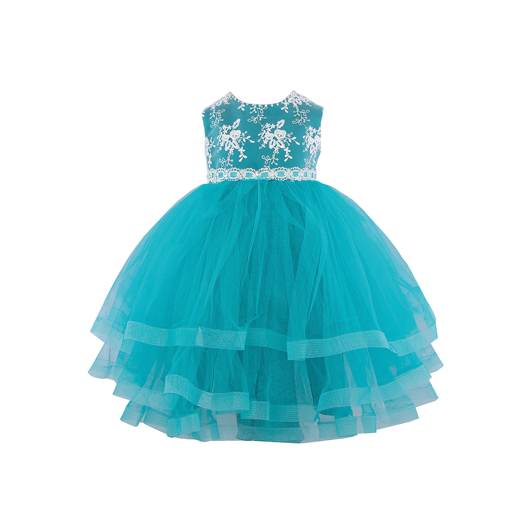 Платье нарядное ПрестижОдежда<br>Платье для девочки Престиж.<br><br>Характеристики:<br><br>• пышный силуэт<br>• без рукавов<br>• состав: 100% полиэстер<br>• цвет: зеленый<br><br>Платье для девочки Престиж - пышное и короткое. Пышная юбка и лиф, украшенный вышивкой, дополнены красивым поясом. Это платье создано специально для маленьких принцесс!<br><br>Платье регулируется шнуровкой сзади, от талии до верха спинки. Шнуровка в комплекте.<br>Платье подходит для занятий бальными танцами.<br><br>Платье для девочки Престиж вы можете купить в нашем интернет-магазине.<br><br>Ширина мм: 236<br>Глубина мм: 16<br>Высота мм: 184<br>Вес г: 177<br>Цвет: зеленый<br>Возраст от месяцев: 48<br>Возраст до месяцев: 60<br>Пол: Женский<br>Возраст: Детский<br>Размер: 110,104,116<br>SKU: 5158405