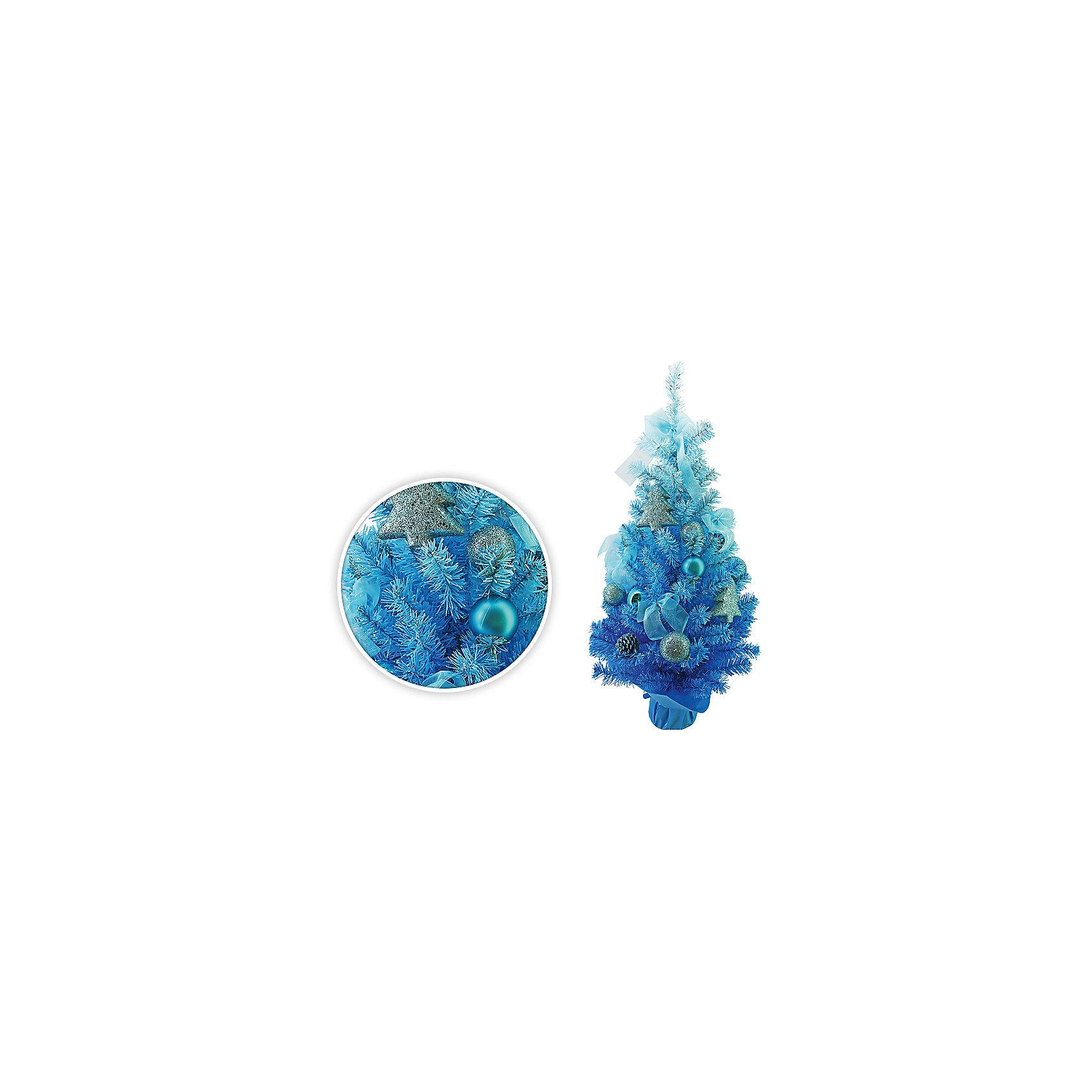 Елка декоративная с украшениями, 75 см, голубой цветВсё для праздника<br>Елка декоративная с украшениями, 75 см, ГОЛУБОЙ цвет<br><br>Ширина мм: 75<br>Глубина мм: 50<br>Высота мм: 50<br>Вес г: 1000<br>Возраст от месяцев: 72<br>Возраст до месяцев: 540<br>Пол: Унисекс<br>Возраст: Детский<br>SKU: 5159007