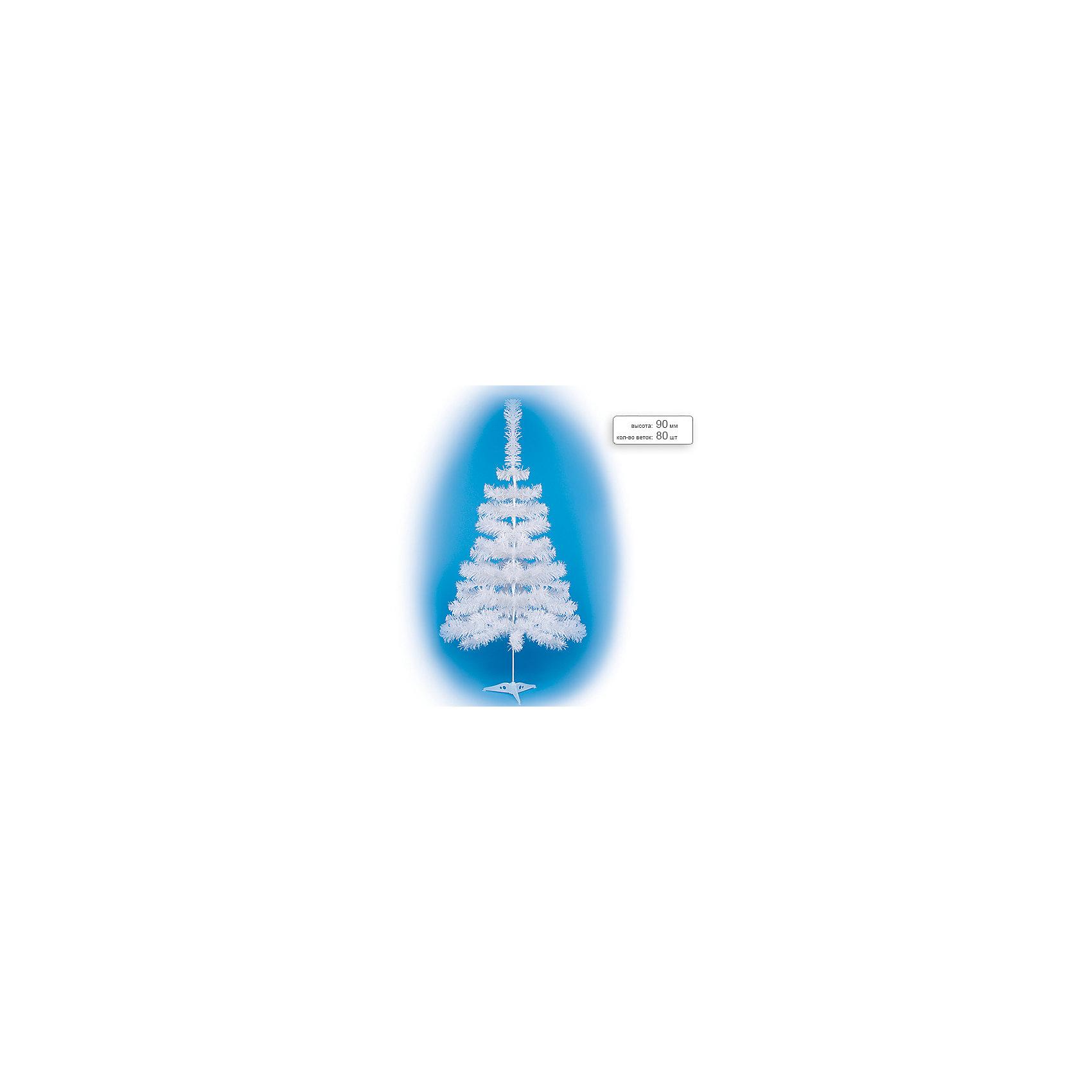 Елка искусственная белая, 90 смЕлка искусственная белая, 90 см, 80 веток<br><br>Ширина мм: 90<br>Глубина мм: 50<br>Высота мм: 50<br>Вес г: 1000<br>Возраст от месяцев: 72<br>Возраст до месяцев: 540<br>Пол: Унисекс<br>Возраст: Детский<br>SKU: 5159008