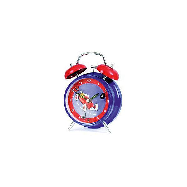 Часы-будильник Гоночные машинки, Egmont ToysДетские предметы интерьера<br>Часы-будильник Гоночные машинки, Egmont<br><br>Характеристики:<br><br>• Цвет: синий, красный<br>• Диаметр будильника: 12 см<br>• Возраст: от 3 лет<br>• Материал: металл, пластик<br>• Батарейки: AA / LR6 1.5V (пальчиковые)<br><br>Красивый будильник станет отличным помощником для малыша. С таким будильником просыпаться в детский садик или школу будет интересно и весело. Часы не тикают, так как имеют встроенный бесшумный механизм, который способствует комфортному сну. Будильник изготовлен из качественного материала и безопасен для ребенка.<br><br>Часы-будильник Гоночные машинки, Egmont можно купить в нашем интернет-магазине.<br><br>Ширина мм: 120<br>Глубина мм: 120<br>Высота мм: 120<br>Вес г: 300<br>Возраст от месяцев: 36<br>Возраст до месяцев: 1188<br>Пол: Мужской<br>Возраст: Детский<br>SKU: 5163414