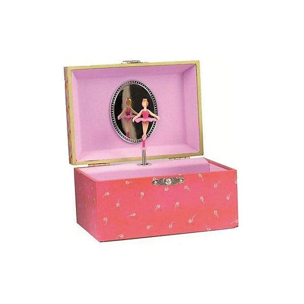 Музыкальная шкатулка Индия, EgmontДетские предметы интерьера<br>Музыкальная шкатулка Индия, Egmont<br><br>Характеристики:<br><br>• Возраст: от 3 лет<br>• Цвет: розовый<br>• Материал: дерево, металл, пластик, стекло<br>• Размер: 15x10x9 см<br>• На батарейках<br><br>Красивая и нежная шкатулка подарит настоящее наслаждение для ребенка. Открывая крышечку, балерина, живущая в шкатулке, начинает танцевать под красивую мелодию. В шкатулке можно хранить детские украшения или маленькие секретики. Шкатулка сделана из качественного материала и полностью безопасна для ребенка. <br><br>Музыкальная шкатулка Индия, Egmont можно купить в нашем интернет-магазине.<br><br>Ширина мм: 145<br>Глубина мм: 105<br>Высота мм: 85<br>Вес г: 300<br>Возраст от месяцев: 36<br>Возраст до месяцев: 1188<br>Пол: Женский<br>Возраст: Детский<br>SKU: 5163420