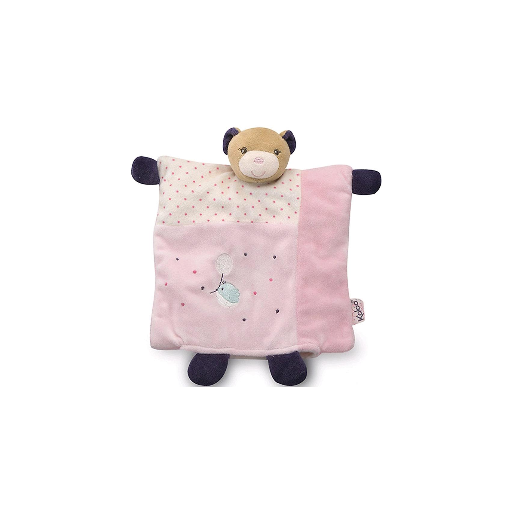 Игрушка-комфортер Розочка Мишка Крастока, KalooИгрушка-комфортер Розочка Мишка Крастока, Kaloo<br><br>Характеристики:<br><br>• Цвет: розовый<br>• Материал: плюш, наполнитель, текстиль<br>• Размер: 20х20 см<br><br>Комфортер – не просто игрушка, это верный помощник малышу в борьбе с плохими сновидениями. Мамочке достаточно подержать комфортер рядом с собой, чтобы он работал в полную силу. Лицо малыша будет прислоняться к мягкой ткани, от которой пахнет мамой. А маленький мишка с квадратным туловищем всегда будет рядом с крошкой. Комфортер упакован в подарочную коробку. <br><br>Игрушка-комфортер Розочка Мишка Крастока, Kaloo можно купить в нашем интернет-магазине.<br><br>Ширина мм: 250<br>Глубина мм: 60<br>Высота мм: 240<br>Вес г: 70<br>Возраст от месяцев: 0<br>Возраст до месяцев: 1188<br>Пол: Женский<br>Возраст: Детский<br>SKU: 5163427