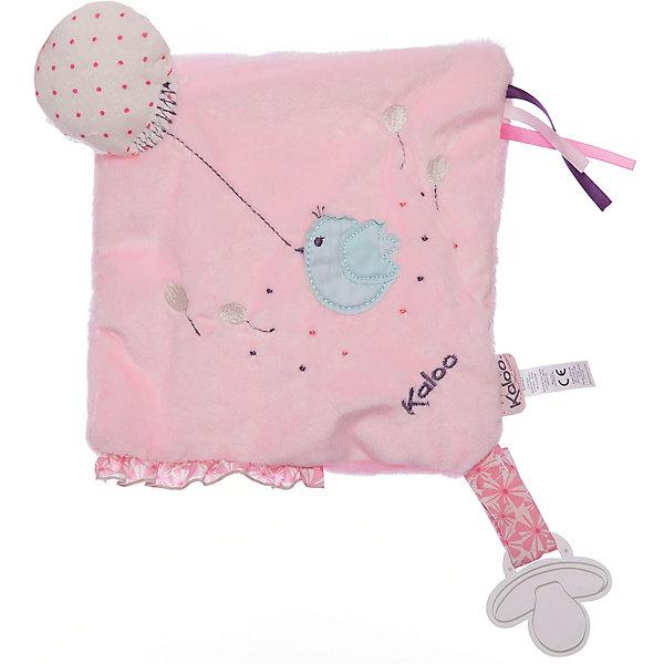 Игрушка-комфортер развивающий Розочка, KalooКомфортеры<br>Игрушка-комфортер развивающий Розочка, Kaloo<br><br>Характеристики:<br><br>• Цвет: розовый<br>• Материал: плюш, наполнитель, текстиль<br>• Размер: 20х20 см<br><br>Комфортер – не просто игрушка, это верный помощник малышу в борьбе с плохими сновидениями. Мамочке достаточно подержать комфортер рядом с собой, чтобы он работал в полную силу. Лицо малыша будет прислоняться к мягкой ткани, от которой пахнет мамой. Воздушный змей всегда будет рядом с крошкой. Комфортер упакован в подарочную коробку. <br><br>Игрушка-комфортер развивающий Розочка, Kaloo можно купить в нашем интернет-магазине.<br>Ширина мм: 270; Глубина мм: 40; Высота мм: 190; Вес г: 39; Возраст от месяцев: 0; Возраст до месяцев: 1188; Пол: Женский; Возраст: Детский; SKU: 5163428;