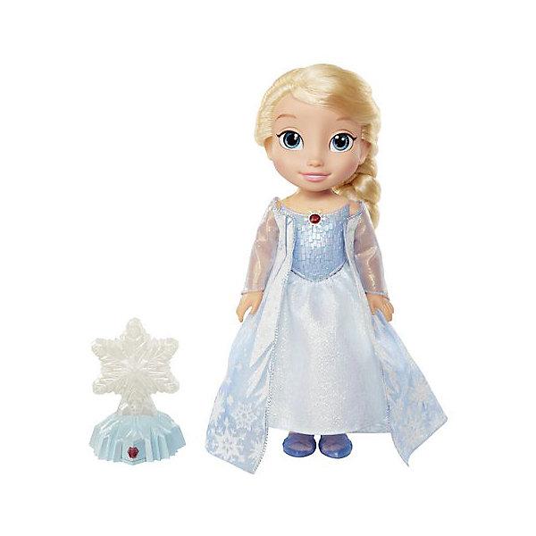 Кукла Эльза Северное сияние Холодное сердце, функциональнаяХолодное Сердце<br>Функциональная кукла Эльза Северное сияние, Холодное Сердце.<br><br>Характеристики:<br><br>• Размер куклы - 35 см.<br>• Снежинка меняет цвет.<br>• Цвет платья куклы зависит от цвета снежинки<br>• В комплекте – кукла, снежинка на подставке<br><br>Кукла Эльза покажет настоящее зимнее волшебство! Девочка сама может поучаствовать в чуде - нужно нажать на амулет Эльзы и кнопочку на подставке со снежинкой. Теперь достаточно только провести рукой над снежинкой и она засияет разными цветами. Одновременно, платье куколки тоже изменится под цвет снежинки, раздадутся звуки волшебства. Эльза - отличный подарок для поклонниц Холодного Сердца и всех, верящих в чудеса! <br><br>Функциональную куклу Эльза Северное сияние, Холодное Сердце, можно купить в нашем интернет – магазине.<br><br>Ширина мм: 300<br>Глубина мм: 380<br>Высота мм: 130<br>Вес г: 1300<br>Возраст от месяцев: 60<br>Возраст до месяцев: 2147483647<br>Пол: Женский<br>Возраст: Детский<br>SKU: 5163444