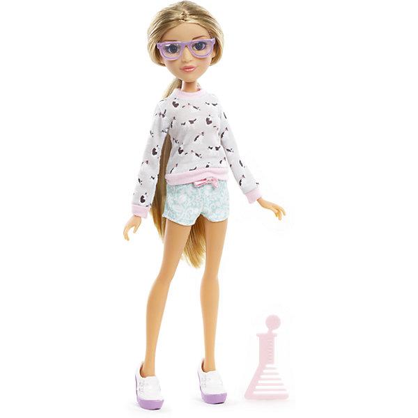 Базовая кукла Адрианна, Project MС2Куклы<br>Базовая кукла Адрианна, Project MС2 (Проджект МСи2).<br><br>Характеристики:<br><br>• Размер куклы - 30 см.<br>• Вес: 0,2 кг.<br>• В комплекте: кукла, расческа.<br>• Материал: пластик, текстиль.<br>• Подвижные суставы: бедра, плечи, шея.<br><br>Кукла Адрианна – это героиня популярного сериала «Project MС2»,девизом которого является «Быть умной – модно!». Куколка  одета в стильный повседневный наряд. На ней  короткие голубые шортики и симпатичный бело-розовый свитер. Законченный вид образу придает обувь – белые ботиночки и очки розового цвета. Длинные реснички, очень «живые» глазки и выразительные черты лица – придают кукле реалистичный вид. Роскошные, вьющиеся белокурые  волосы ваша девочка сможет .расчесывать и укладывать в затейливые прически. Такая куколка станет желанным подарком для вашей девочки!<br><br>Базовую  куклу Адрианна, Project MС2, можно купить в нашем интернет – магазине.<br><br>Ширина мм: 180<br>Глубина мм: 330<br>Высота мм: 70<br>Вес г: 355<br>Возраст от месяцев: 72<br>Возраст до месяцев: 2147483647<br>Пол: Женский<br>Возраст: Детский<br>SKU: 5163446