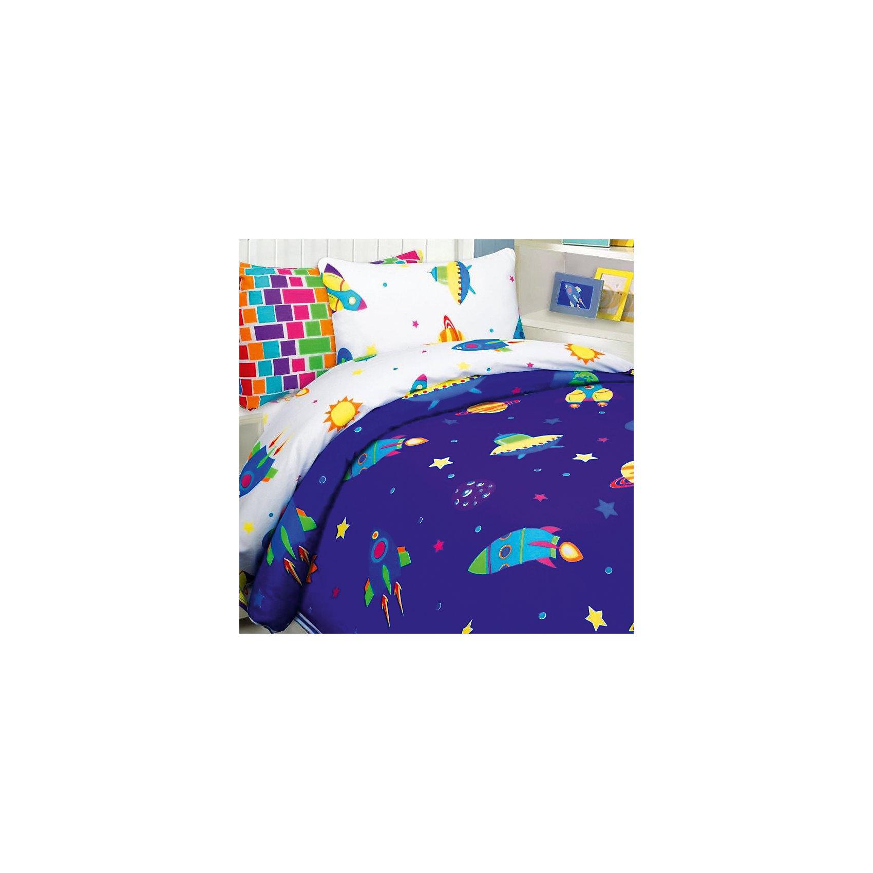 Постельное белье Космос, 1,5-спальный, 70*70 и 50*70 бязь, Mona LizaДомашний текстиль<br>Характеристики:<br><br>• Вид домашнего текстиля: детское постельное белье<br>• Тип постельного белья по размерам: 1,5 сп<br>• Пол: для мальчика<br>• Серия: Mona Liza Kids<br>• Сезон: круглый год<br>• Материал: бязь <br>• Цвет: оттенки синего, оранжевый, желтый, белый<br>• Комплектация: <br> пододеяльник – 1 шт. 145*210 см <br> простынь – 1 шт. 150*215 см<br> наволочки – 2 шт. (50-70 см и 70*70 см)<br>• Тип упаковки: книжка картонная<br>• Вес в упаковке: 2 кг 300 г<br>• Особенности ухода: машинная стирка при температуре 30 градусов<br><br>Постельное белье 1,5сп Космос 70*70 и 50*70 бязь, Mona Liza изготовлено под отечественным торговым брендом, выпускающим постельное белье из натуральных тканей. Комплект выполнен из 100 % бязи, отличающейся высокими характеристиками не только прочности самого полотна, но и устойчивости окраски, которая выполняется по особой технологии. Комплектсостоит из 4-х предметов: простыни, пододеяльника и двух наволочек разных размеров. Постельное белье выполнено в ярком дизайне с изображениями животных. <br>Постельное белье 1,5сп Космос 70*70 и 50*70 бязь, Mona Liza – домашний текстиль, соответствующий международным стандартам качества и безопасности!<br><br>Постельное белье 1,5сп Космос 70*70 и 50*70 бязь, Mona Liza можно купить в нашем интернет-магазине.<br><br>Ширина мм: 250<br>Глубина мм: 60<br>Высота мм: 330<br>Вес г: 1300<br>Возраст от месяцев: 84<br>Возраст до месяцев: 216<br>Пол: Мужской<br>Возраст: Детский<br>SKU: 5165647