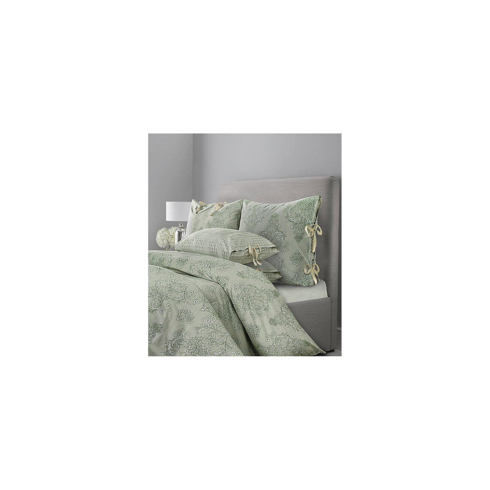 Мона Лиза Постельное белье SL Chalet, 2-спальный, 70*70 50х70 сатин, Mona Liza, зеленая олива постельное белье mona liza комплект постельного белья 2сп pet н 2 70 70 н 2 50х70 sl сатин панно