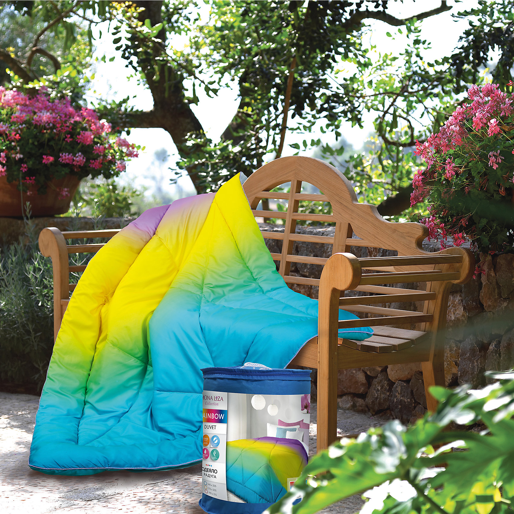 Одеяло 140*205 Радуга, 200гр., микрошелк, Mona LizaХарактеристики:<br><br>• Вид домашнего текстиля: одеяло<br>• Серия: Mona Liza Comfort<br>• Сезон: круглый год<br>• Материал чехла: микрофибра <br>• Наполнитель: 100% полиэстер (силиконизированное полотно)<br>• Цвет: желтый, розовый, голубой<br>• Размеры (Д*Ш): 140*205 см <br>• Тип упаковки: полиэтиленовая сумка с ручками<br>• Вес в упаковке: 900 г<br>• Особенности ухода: машинная стирка при температуре 30 градусов<br><br>Одеяло 140*205 Радуга 200гр., микрошелк, Mona Liza изготовлено под отечественным торговым брендом, выпускающим постельные принадлежности из натуральных тканей. Одеяло выполнено из микрофибры, которая отличается прочностью, воздухопроницаемостью и гипоаллергенными свойствами. В качестве наполнителя использовано силиконизированное волокно, которое полностью гипоаллергенно, длительное время хорошо держит форму. Плотность наполнителя одеяла составляет 200 г/м2, что делает его особенно теплым, но при этом легким по весу. Одеяло выполнено в ярком дизайне.<br>Одеяло 140*205 Радуга 200гр., микрошелк, Mona Liza – домашний текстиль, соответствующий международным стандартам качества и безопасности!<br><br>Одеяло 140*205 Радуга 200гр., микрошелк, Mona Liza можно купить в нашем интернет-магазине.<br><br>Ширина мм: 540<br>Глубина мм: 160<br>Высота мм: 460<br>Вес г: 1450<br>Возраст от месяцев: 84<br>Возраст до месяцев: 216<br>Пол: Унисекс<br>Возраст: Детский<br>SKU: 5165694