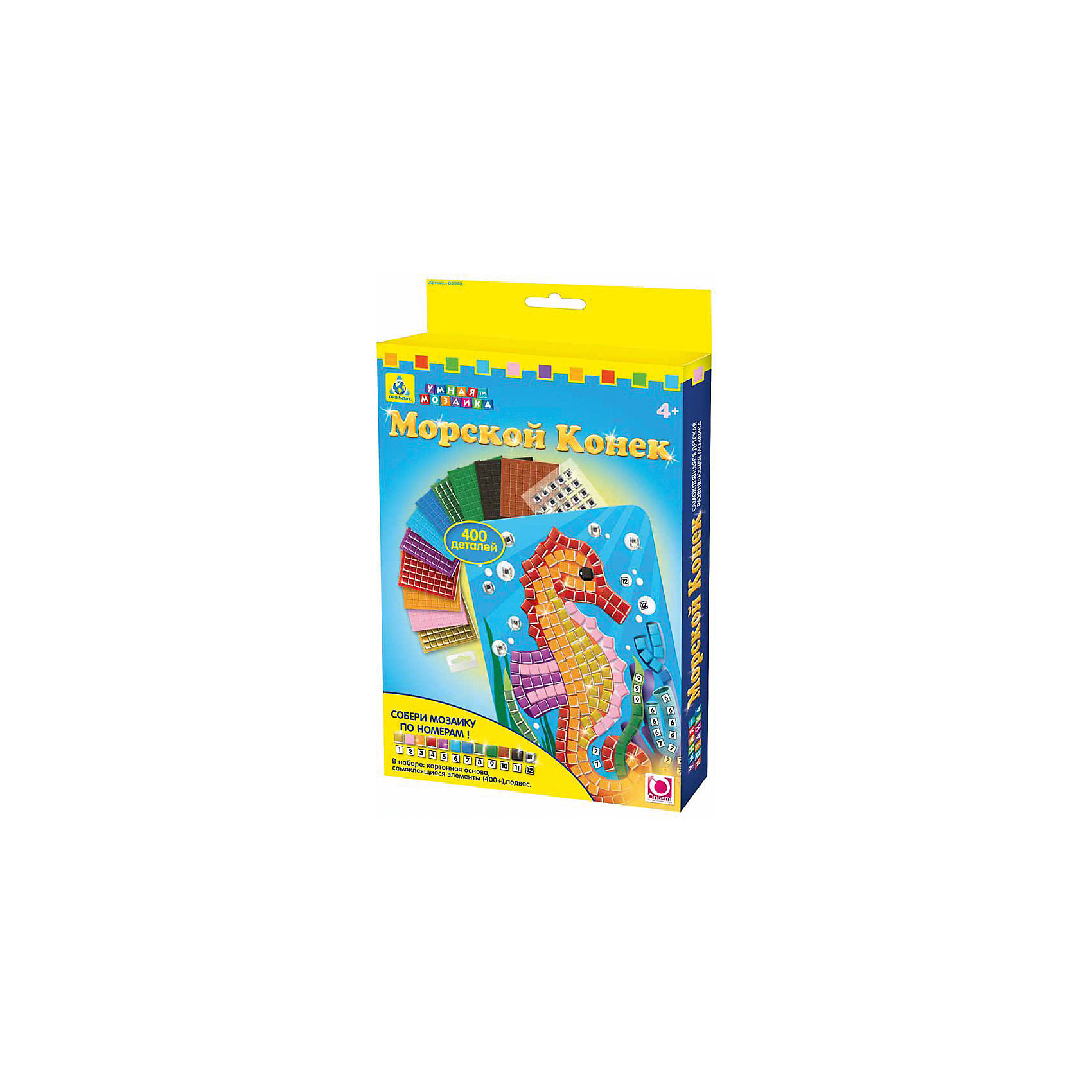 Orb Factory Мозаика Морской Конек аудиомагнитола bbk bx195u голубой серый bbk bx195u голубой серый