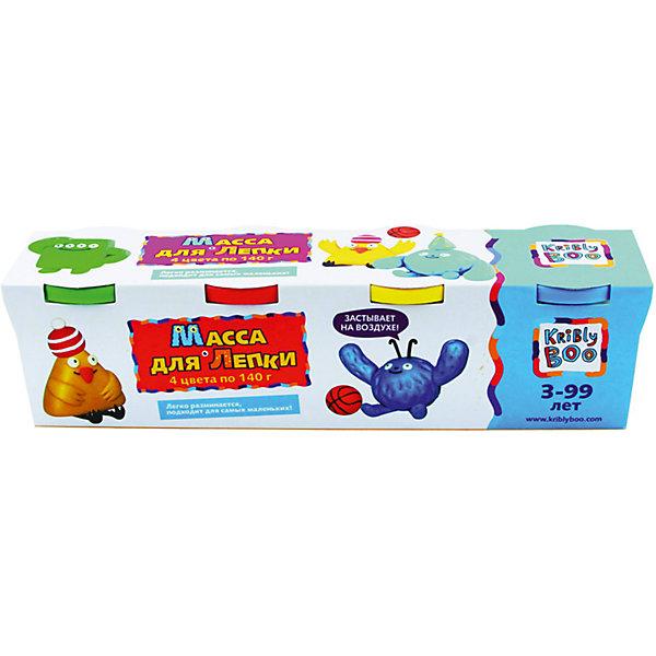 Масса для лепки, 4 шт. 140 гМасса для лепки<br>Характеристики товара:<br><br>• цвет: разноцветный<br>• размер упаковки: 27 x 7 x 7 см<br>• вес: 700 г<br>• комплектация: 4 баночки<br>• вес одной баночки с массой: 140 г<br>• затвердевает на воздухе<br>• возраст: от трех лет<br>• упаковка: картонная коробка<br>• страна бренда: Финляндия<br>• страна изготовитель: Китай<br><br>Такой набор станет отличным подарком ребенку - ведь с помощью массы для лепки создавать фигуры легко и весело! В набор входят баночки с массой базовых цветов . Масса потом сама затвердевает на воздухе!<br>Детям очень нравится что-то делать своими руками! Кроме того, творчество помогает детям развивать важные навыки и способности, оно активизирует мышление, формирует усидчивость, творческие способности, мелкую моторику и воображение. Изделие производится из качественных и проверенных материалов, которые безопасны для детей.<br><br>Набор Масса для лепки, 4 шт. 140 г от бренда KriBly Boo можно купить в нашем интернет-магазине.<br><br>Ширина мм: 270<br>Глубина мм: 65<br>Высота мм: 68<br>Вес г: 677<br>Возраст от месяцев: 36<br>Возраст до месяцев: 84<br>Пол: Унисекс<br>Возраст: Детский<br>SKU: 5167826