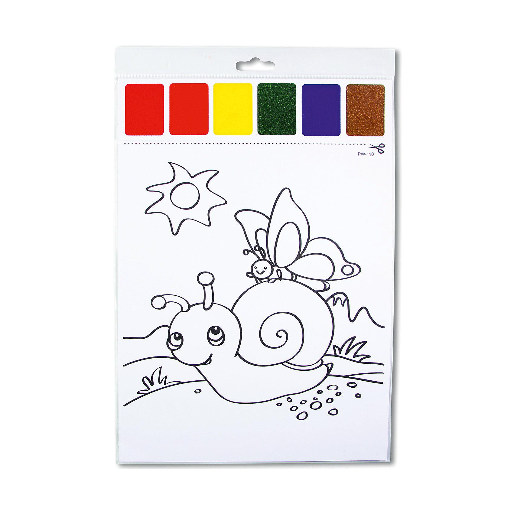 Набор для раскрашивания акварелью Улитка и бабочкаРисование<br>Характеристики товара:<br><br>• материал: картон<br>• размер: 22х32 см<br>• вес: 26 г<br>• комплектация: раскраска, палитра красок 6 цветов<br>• развивающая<br>• возраст: от трех лет<br>• страна бренда: Финляндия<br>• страна изготовитель: Китай<br><br>Такая раскраска станет отличным подарком малышам! Она отличается тем, что прямо на ней - акварельные краски! В палитре - 6 самых популярных оттенков, которых хватит для раскрашивания картинки. Изображения крупные, поэтому даже малышам будет легко их раскрасить. С помощью раскрашивания ребенок не только весело проведет время, он будет тренировать внимательность, абстрактное мышление, логику, усидчивость, мелкую моторику и творческие способности. <br>Раскраска выпущена в удобном формате. Изделие производится из качественных и проверенных материалов, которые безопасны для детей.<br><br>Набор для раскрашивания акварелью Улитка и бабочка от бренда KriBly Boo можно купить в нашем интернет-магазине.<br><br>Ширина мм: 320<br>Глубина мм: 215<br>Высота мм: 3<br>Вес г: 26<br>Возраст от месяцев: 36<br>Возраст до месяцев: 84<br>Пол: Унисекс<br>Возраст: Детский<br>SKU: 5167829