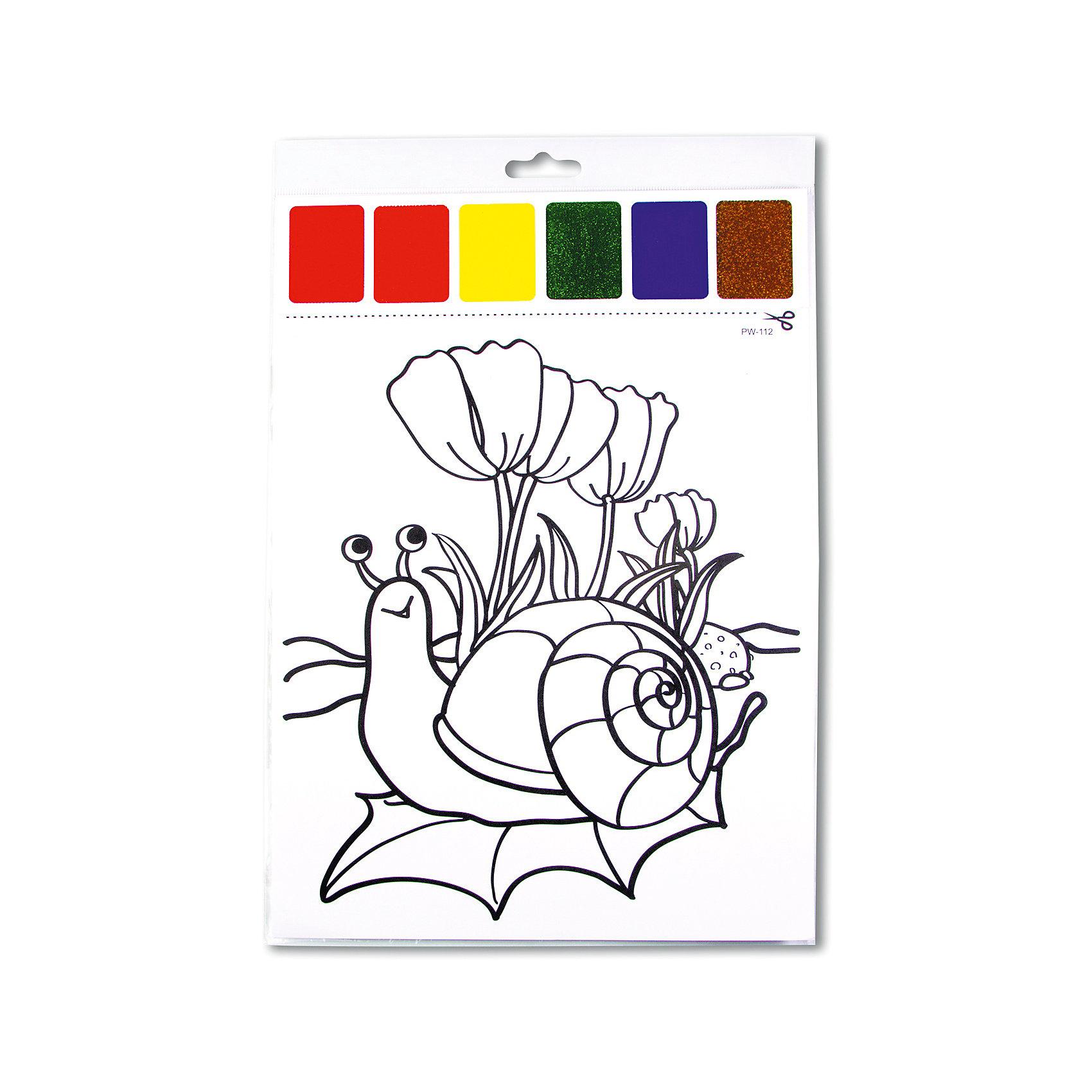 Набор для раскрашивания акварелью Улитка на листочке, с кисточкойРисование<br>Характеристики товара:<br><br>• материал: картон<br>• размер: 22х32 см<br>• вес: 26 г<br>• комплектация: раскраска, палитра красок 6 цветов<br>• развивающая<br>• возраст: от трех лет<br>• страна бренда: Финляндия<br>• страна изготовитель: Китай<br><br>Такая раскраска станет отличным подарком малышам! Она отличается тем, что прямо на ней - акварельные краски! В палитре - 6 самых популярных оттенков, которых хватит для раскрашивания картинки. Изображения крупные, поэтому даже малышам будет легко их раскрасить. С помощью раскрашивания ребенок не только весело проведет время, он будет тренировать внимательность, абстрактное мышление, логику, усидчивость, мелкую моторику и творческие способности. <br>Раскраска выпущена в удобном формате. Изделие производится из качественных и проверенных материалов, которые безопасны для детей.<br><br>Набор для раскрашивания акварелью Улитка на листочке от бренда KriBly Boo можно купить в нашем интернет-магазине.<br><br>Ширина мм: 320<br>Глубина мм: 215<br>Высота мм: 3<br>Вес г: 27<br>Возраст от месяцев: 36<br>Возраст до месяцев: 84<br>Пол: Унисекс<br>Возраст: Детский<br>SKU: 5167830