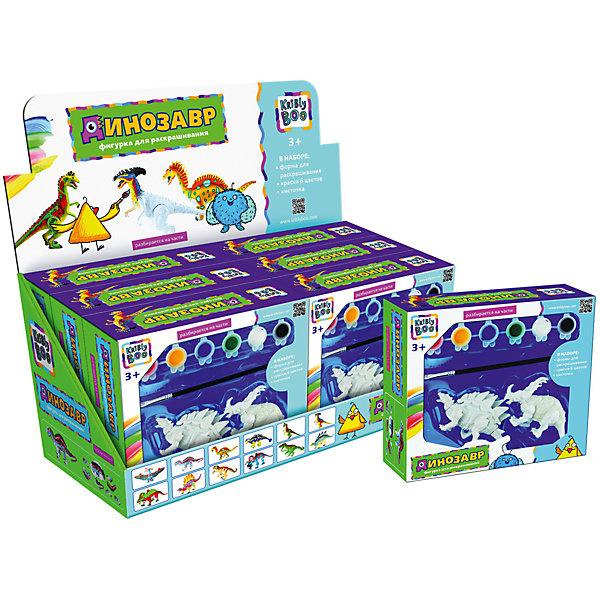 Две фигурки динозавров для раскрашиванияНаборы для раскрашивания<br>Характеристики товара:<br><br>• материал: пластик, акрил<br>• размер: 38х18х17 см<br>• вес: 250 г<br>• комплектация: 2 динозавра, краски 6 цветов, кисть<br>• фигурка разбираются на части<br>• развивающая<br>• возраст: от трех лет<br>• страна бренда: Финляндия<br>• страна изготовитель: Китай<br><br>Такая раскраска станет отличным подарком малышам! Она отличается тем, что сделана в виде объемного динозавра! Ддля раскрашивания к ней прилагаются кисть и краски. С помощью раскрашивания ребенок не только весело проведет время, он будет тренировать внимательность, абстрактное мышление, логику, усидчивость, мелкую моторику и творческие способности. <br>Раскраска выпущена в удобном формате. Изделие производится из качественных и проверенных материалов, которые безопасны для детей.<br><br>Две фигурки динозавров для раскрашивания от бренда KriBly Boo можно купить в нашем интернет-магазине.<br><br>Ширина мм: 380<br>Глубина мм: 190<br>Высота мм: 170<br>Вес г: 264<br>Возраст от месяцев: 36<br>Возраст до месяцев: 84<br>Пол: Унисекс<br>Возраст: Детский<br>SKU: 5167841