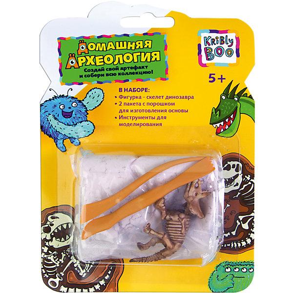 Набор РаскопкиНаборы для раскопок<br>Характеристики товара:<br><br>• размер упаковки: 3 x 17 x 13 см<br>• вес: 90 г<br>• комплектация: фигурка - скелет динозавра, 2 пакета с порошком для изготовления основы, инструменты для моделирования<br>• возраст: от пяти лет<br>• упаковка: блистер<br>• страна бренда: Финляндия<br>• страна изготовитель: Китай<br><br>Такой набор станет отличным подарком ребенку - ведь с помощью него можно устроить раскопки! В набор входят различные предметы и инструкция. Это отличный способ занять ребенка!<br>Создание чего-либо своими руками помогает детям развивать важные навыки и способности, оно активизирует мышление, формирует усидчивость, логику, мелкую моторику и воображение. Изделие производится из качественных и проверенных материалов, которые безопасны для детей.<br><br>Набор Раскопки от бренда KriBly Boo можно купить в нашем интернет-магазине.<br>Ширина мм: 175; Глубина мм: 130; Высота мм: 35; Вес г: 91; Возраст от месяцев: 60; Возраст до месяцев: 108; Пол: Унисекс; Возраст: Детский; SKU: 5167845;