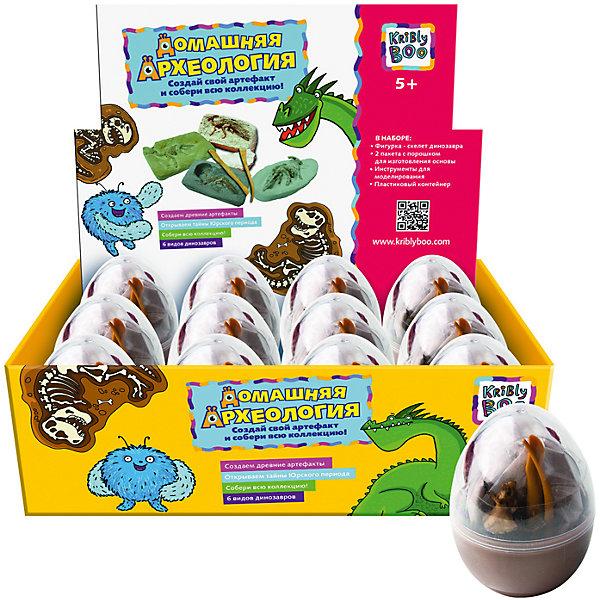 Набор для создания раскопок Динозавр в яйцеНаборы для раскопок<br>Характеристики товара:<br><br>• размер упаковки: 328x21x10 см<br>• вес: 90 г<br>• комплектация: фигурка - скелет динозавра, 2 пакета с порошком для изготовления основы, инструменты для моделирования, емкость<br>• возраст: от пяти лет<br>• упаковка: блистер<br>• страна бренда: Финляндия<br>• страна изготовитель: Китай<br><br>Такой набор станет отличным подарком ребенку - ведь с помощью него можно устроить раскопки! В набор входят различные предметы и инструкция. Это отличный способ занять ребенка!<br>Создание чего-либо своими руками помогает детям развивать важные навыки и способности, оно активизирует мышление, формирует усидчивость, логику, мелкую моторику и воображение. Изделие производится из качественных и проверенных материалов, которые безопасны для детей.<br><br>Набор для создания раскопок Динозавр в яйце, в ассортименте, от бренда KriBly Boo можно купить в нашем интернет-магазине.<br>Ширина мм: 280; Глубина мм: 210; Высота мм: 100; Вес г: 97; Возраст от месяцев: 60; Возраст до месяцев: 108; Пол: Унисекс; Возраст: Детский; SKU: 5167846;