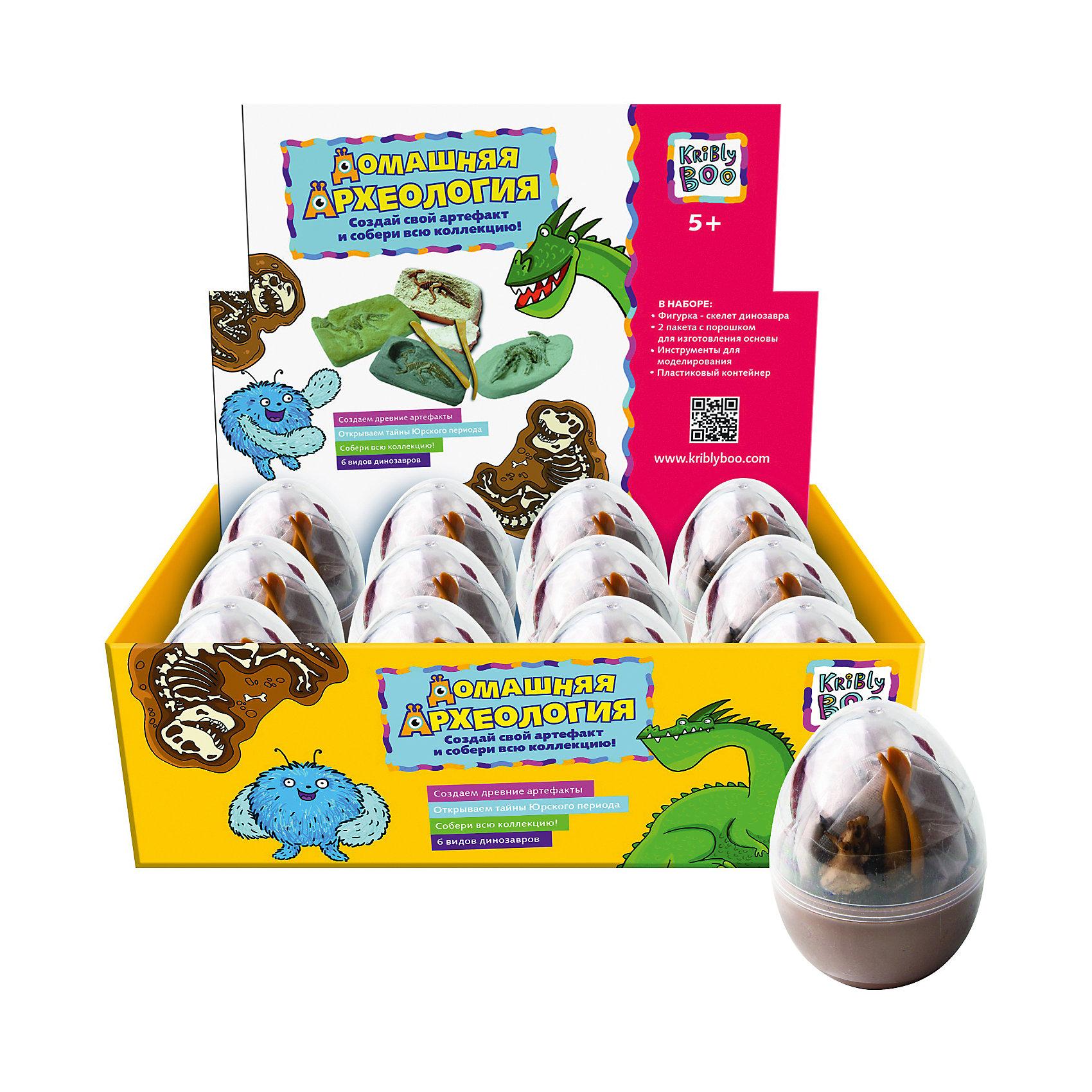 Kribly Boo Набор для создания раскопок Динозавр в яйце, в ассортименте детский набор для моделирования stirling engine stirling gz001