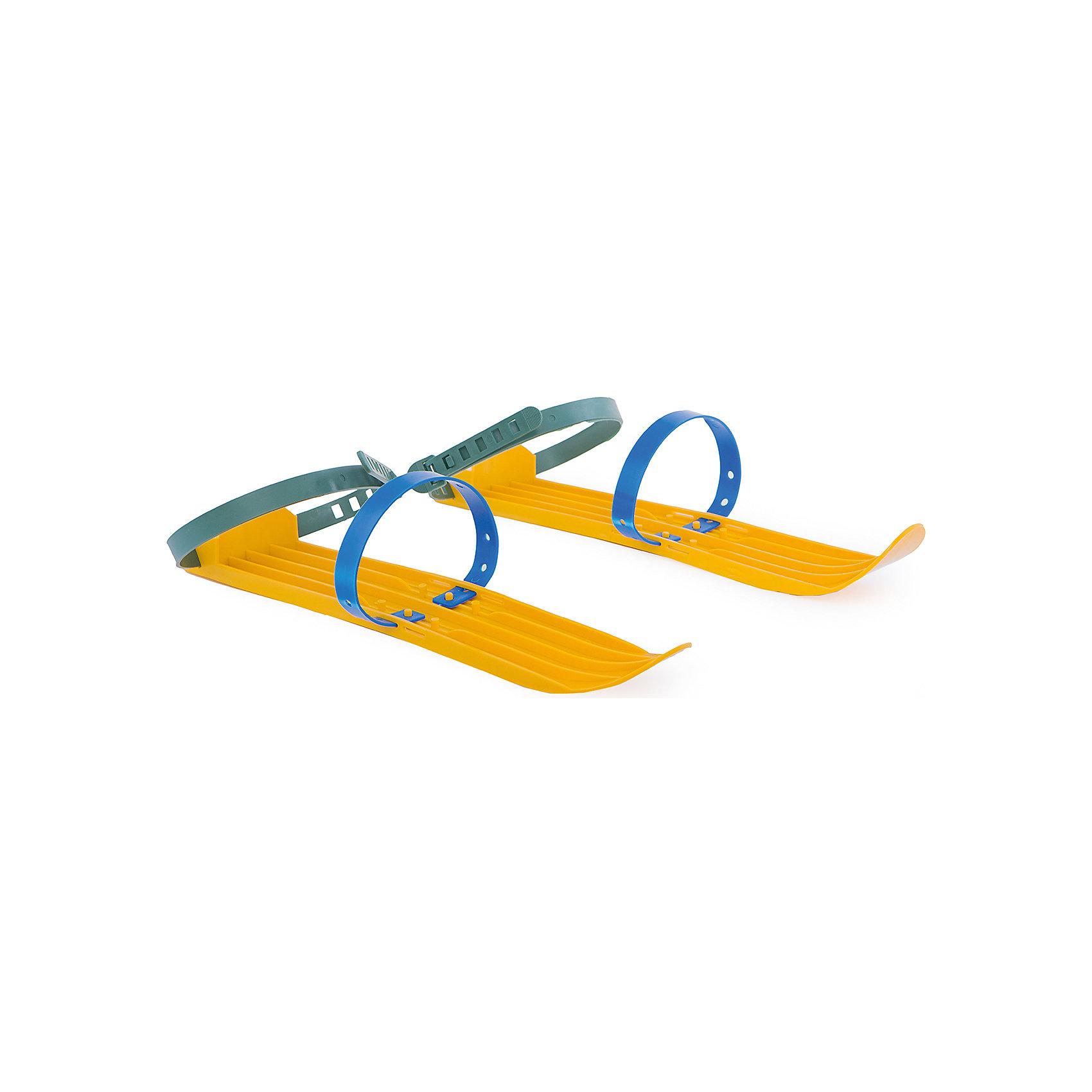 Мини-лыжи малые, жёлтыеМини-лыжи малые, жёлтые.<br><br>Характеристики:<br><br>• Размер упаковки – 40,5х4,5х7,5 см.<br>• Вес: 350 г.<br>• Материал: пластик.<br>• Цвет: желтый.<br><br>Катание на лыжах – коротышках одна из веселых зимних забав! К тому же, это прекрасная закалка и тренировка! Лыжи выполнены из прочного пластика и надёжно крепятся к ноге с помощью двух регулируемых ремешков. Яркий желтый цвет привлечет внимание вашего ребенка. С мини-лыжами зимние прогулки станут еще  насыщеннее и веселее! <br><br>Мини-лыжи малые, жёлтые, можно купить в нашем интернет – магазине.<br><br>Ширина мм: 405<br>Глубина мм: 45<br>Высота мм: 75<br>Вес г: 350<br>Цвет: желтый<br>Возраст от месяцев: 36<br>Возраст до месяцев: 2147483647<br>Пол: Унисекс<br>Возраст: Детский<br>SKU: 5167847