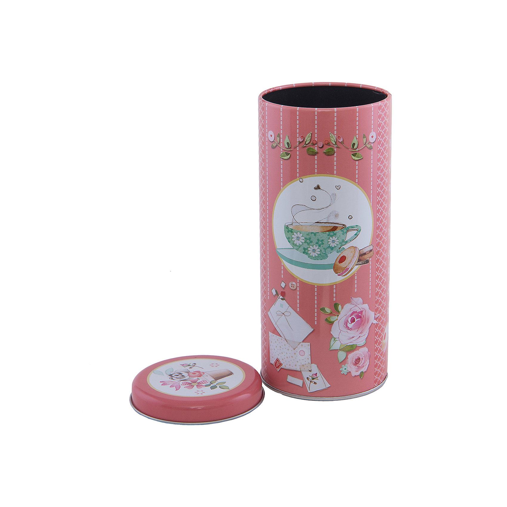 Феникс-Презент Емкость для сыпучих продуктов Ромашковый чай 800мл, Феникс-Презент
