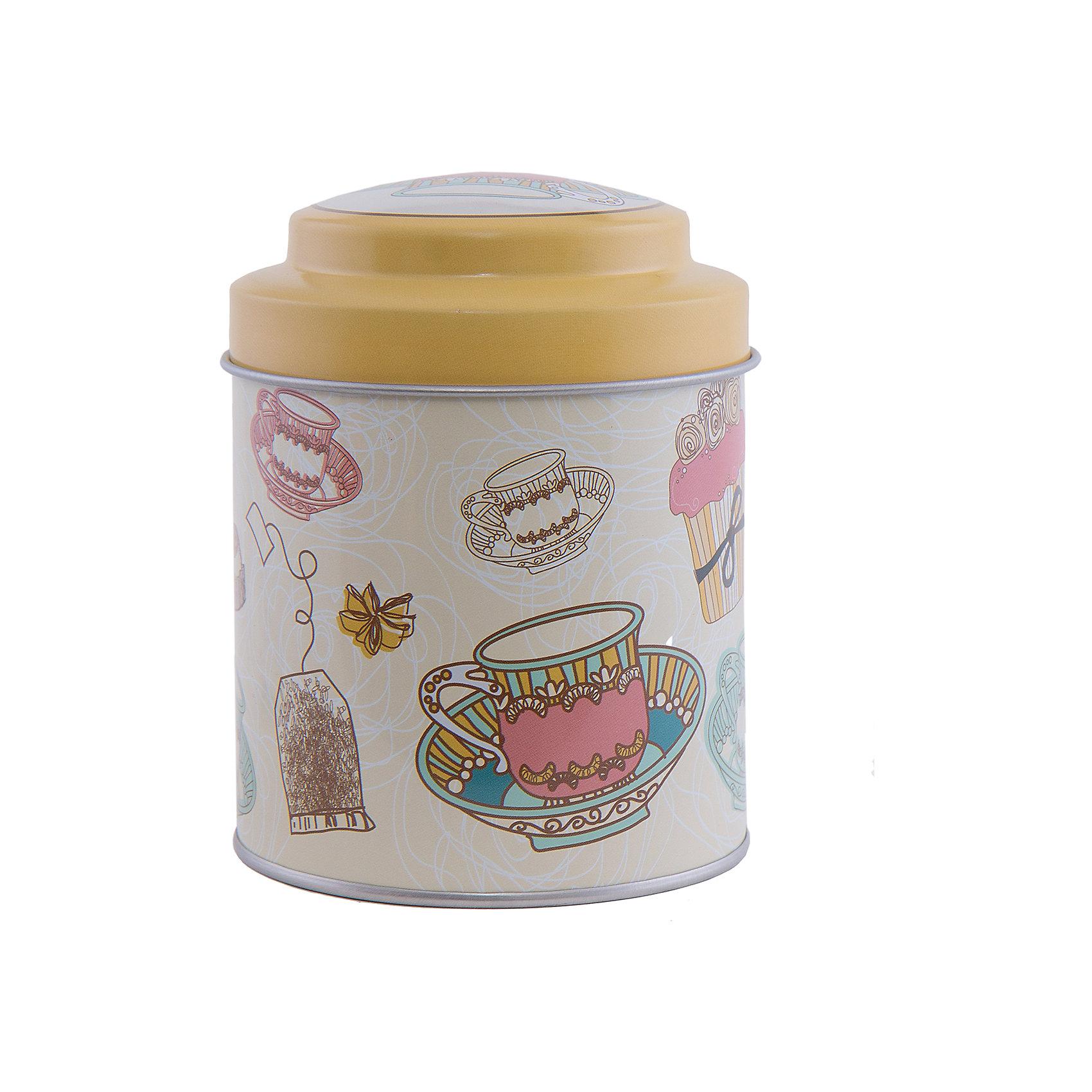 Феникс-Презент Емкость для сыпучих продуктов Чайное утро 680мл, Феникс-Презент