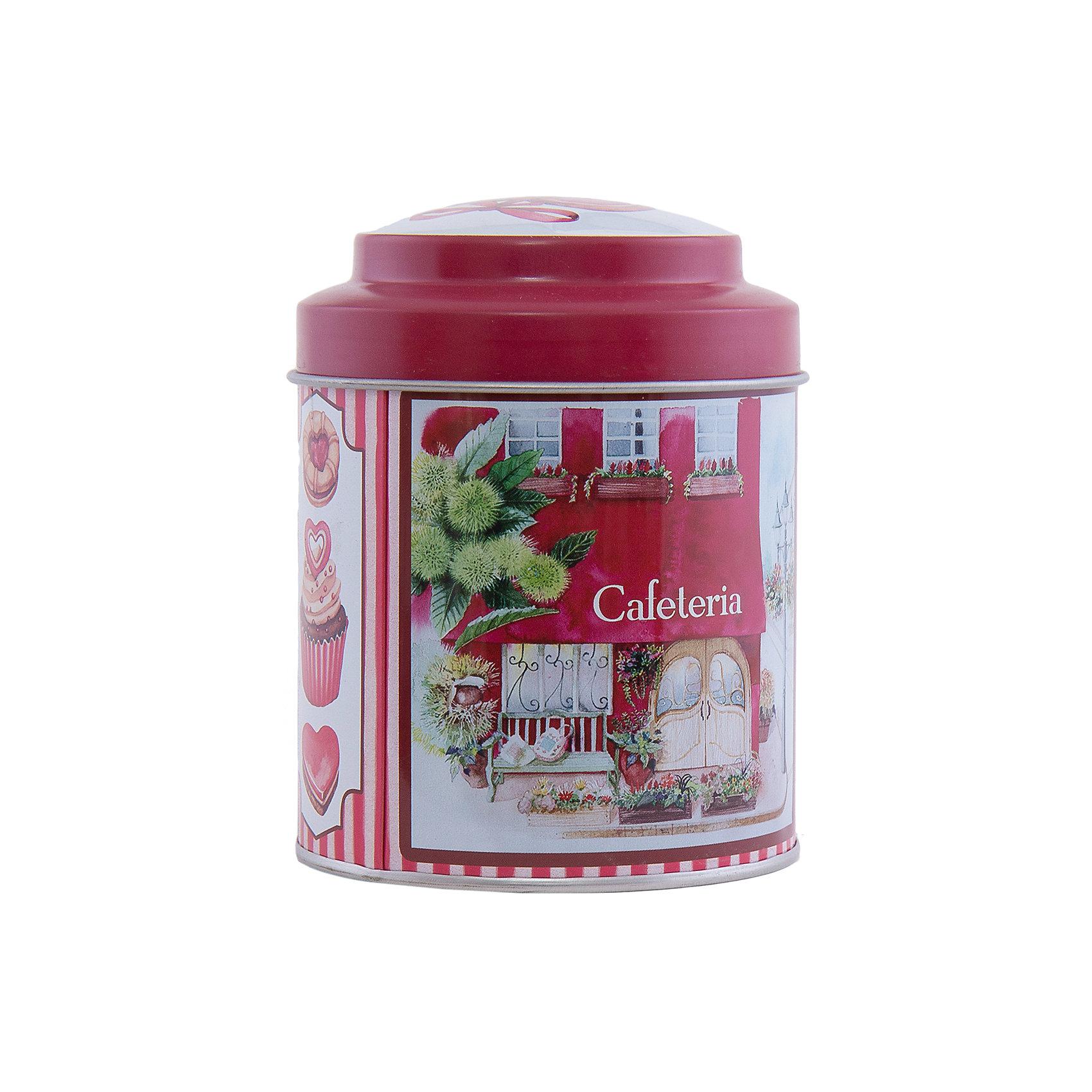 Емкость для сыпучих продуктов Кафе 680мл, Феникс-ПрезентЕмкость для сыпучих продуктов Кафе 680 мл, Феникс-Презент.<br><br>Характеристика:<br><br>• Материал: металл. <br>• Объем: 680 мл. <br>• Размер упаковки: 8,7х11,5 см. <br>• Удобная крышка.<br>• Яркий привлекательный дизайн. <br>• Нельзя мыть в посудомоечной машине.<br><br>Красивая яркая баночка для сыпучих продуктов займет достойное место на любой кухне! Емкость выполнена из окрашенного металла с использованием нетоксичных экологичных красителей. Удобная крышка плотно закрывается и легко открывается. Прекрасный вариант для небольшого подарка на любой праздник. <br><br>Емкость для сыпучих продуктов Кафе 680 мл, Феникс-Презент, можно купить в нашем интернет-магазине.<br><br>Ширина мм: 87<br>Глубина мм: 87<br>Высота мм: 115<br>Вес г: 93<br>Возраст от месяцев: 12<br>Возраст до месяцев: 1188<br>Пол: Унисекс<br>Возраст: Детский<br>SKU: 5168399