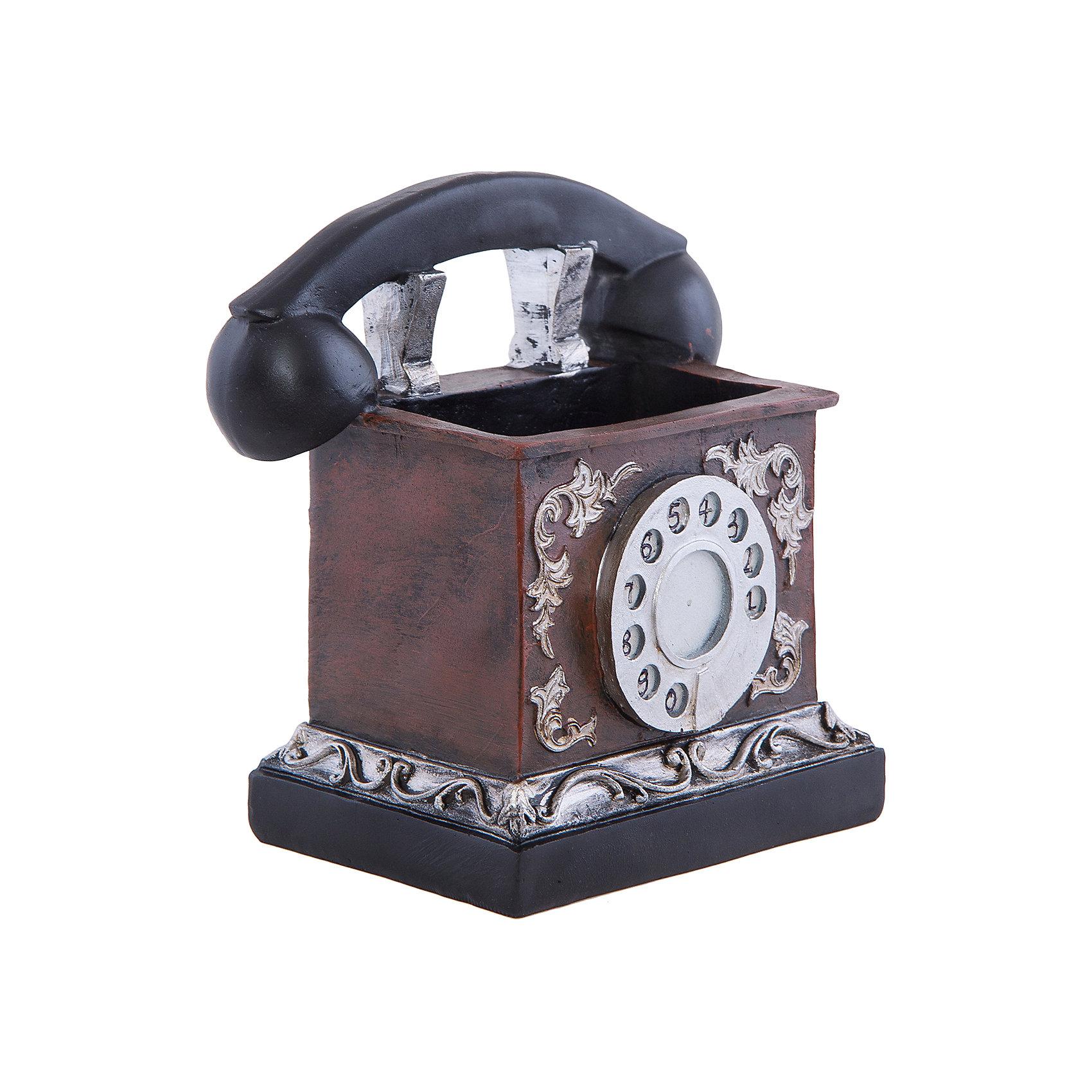 Феникс-Презент Подставка для канц.принадлежностей РЕТРО ТЕЛЕФОН, Феникс-Презент телефон в интернет магазине в астрахане