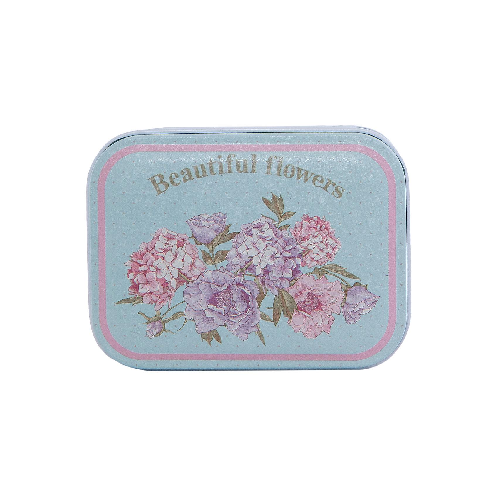 Феникс-Презент Коробка для безделушек и мелочей Красивые цветы  10.5*8*6, Феникс-Презент феникс презент