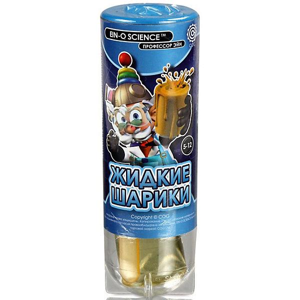 Жидкие шарики, Профессор ЭйнХимия и физика<br>Характеристики товара:<br><br>• цвет: разноцветный<br>• размер упаковки: 9 x 9 x 10 см<br>• вес: 300 г<br>• комплектация: 10 красных таблеток, 2 баночки растительного масла, 2 палочки для перемешивания, инструкция<br>• возраст: от десяти лет<br>• упаковка: коробка<br>• страна бренда: Китай<br>• страна изготовитель: Китай<br><br>Такой набор станет отличным подарком ребенку - ведь с помощью него можно проводить интересные опыты! В набор входят различные предметы и вещества, с помощью которых можно создавать жидкие цветные шарики. Это отличный способ изучать химию!<br>Проведение опытов помогает детям развивать важные навыки и способности, оно активизирует мышление, формирует усидчивость, логику, мелкую моторику и воображение. Изделие производится из качественных и проверенных материалов, которые безопасны для детей.<br><br>Набор Жидкие шарики от бренда Профессор Эйн можно купить в нашем интернет-магазине.<br>Ширина мм: 44; Глубина мм: 44; Высота мм: 139; Вес г: 100; Возраст от месяцев: 72; Возраст до месяцев: 144; Пол: Унисекс; Возраст: Детский; SKU: 5168526;